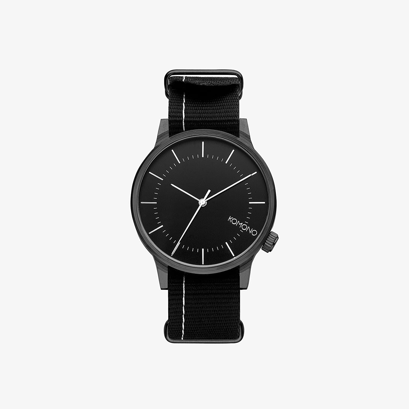Watches Komono Winston Regal Watch Nato Black