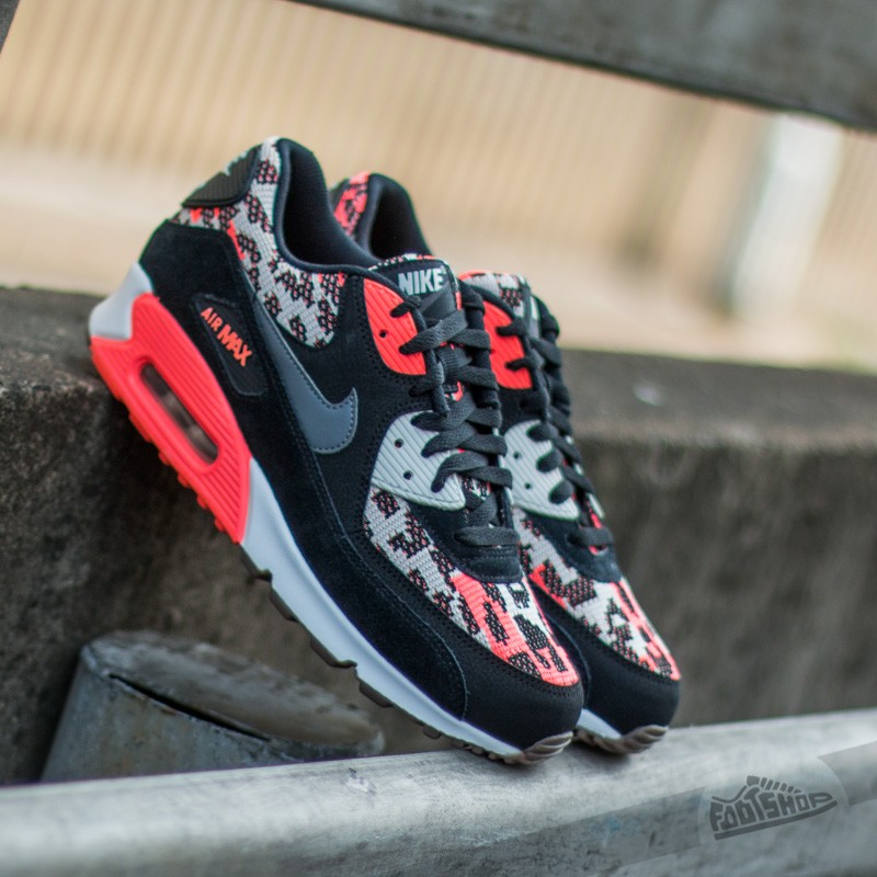 new style b43e5 ae0e3 Nike Air Max 90 Pa. Hot Lava  Dark Grey-Black