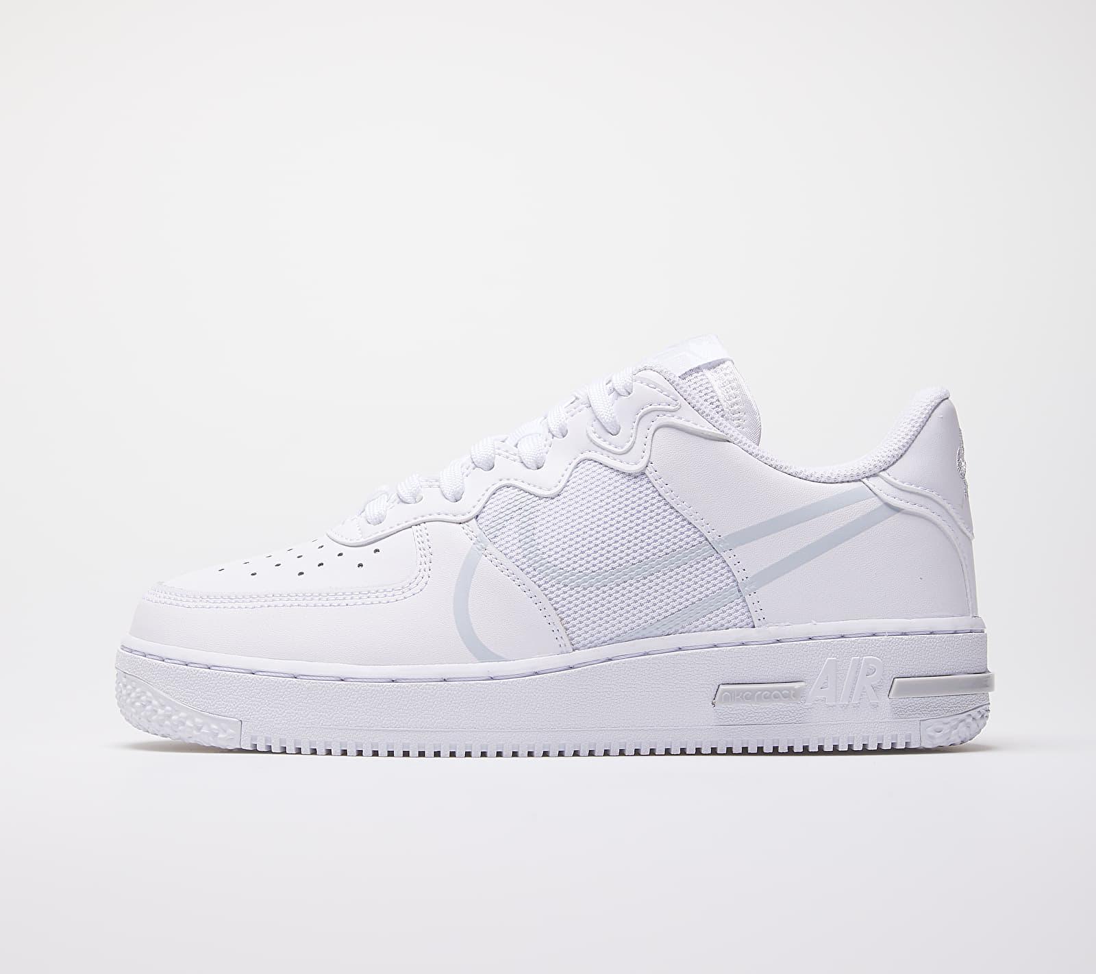Nike Air Force 1 React White/ Pure Platinum EUR 46
