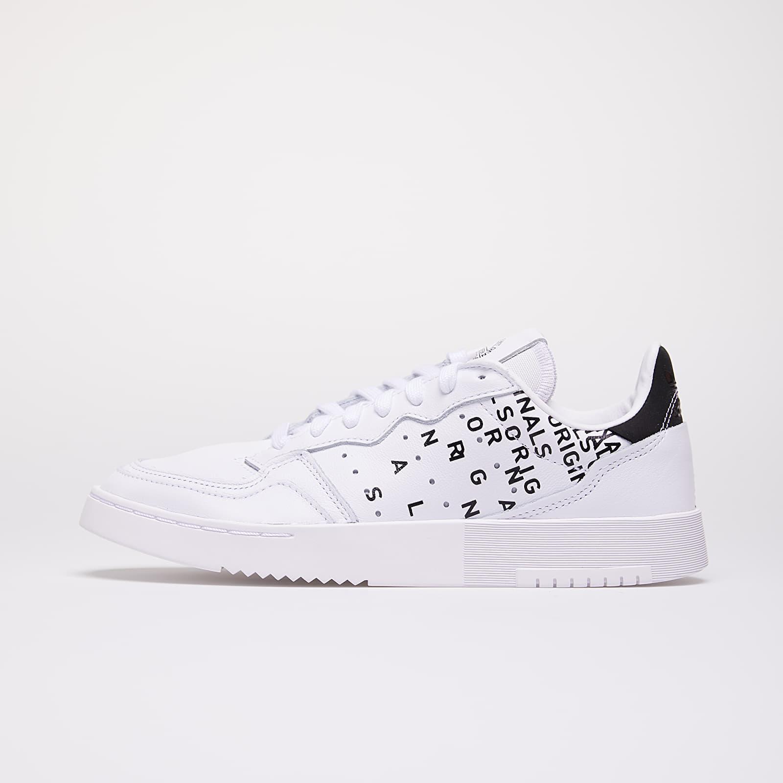 Women's shoes adidas Supercourt W Ftw White/ Ftw White/ Core Black