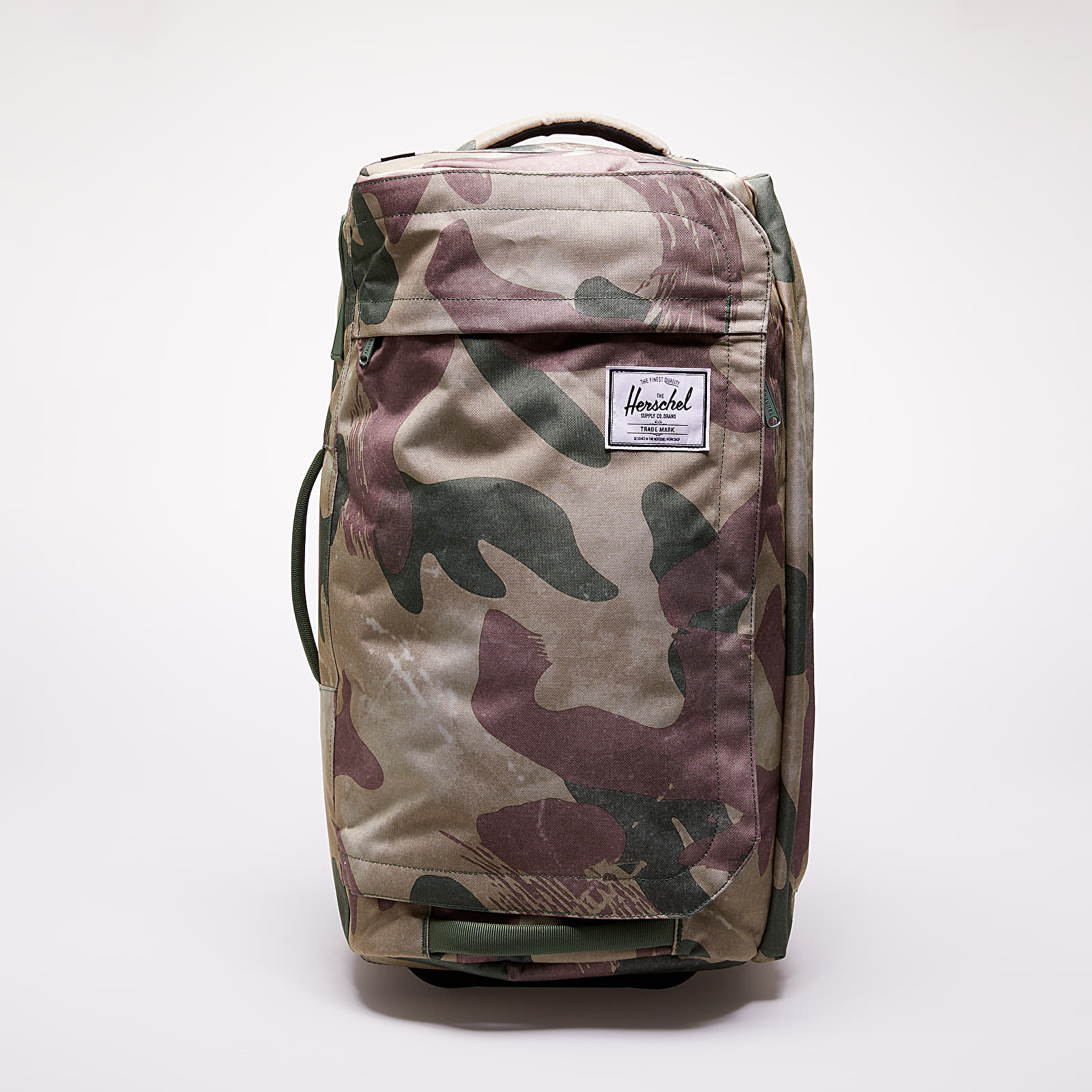 Batohy a tašky Herschel Supply Co. Outfitter Wheelie Luggage Brushstroke Camo