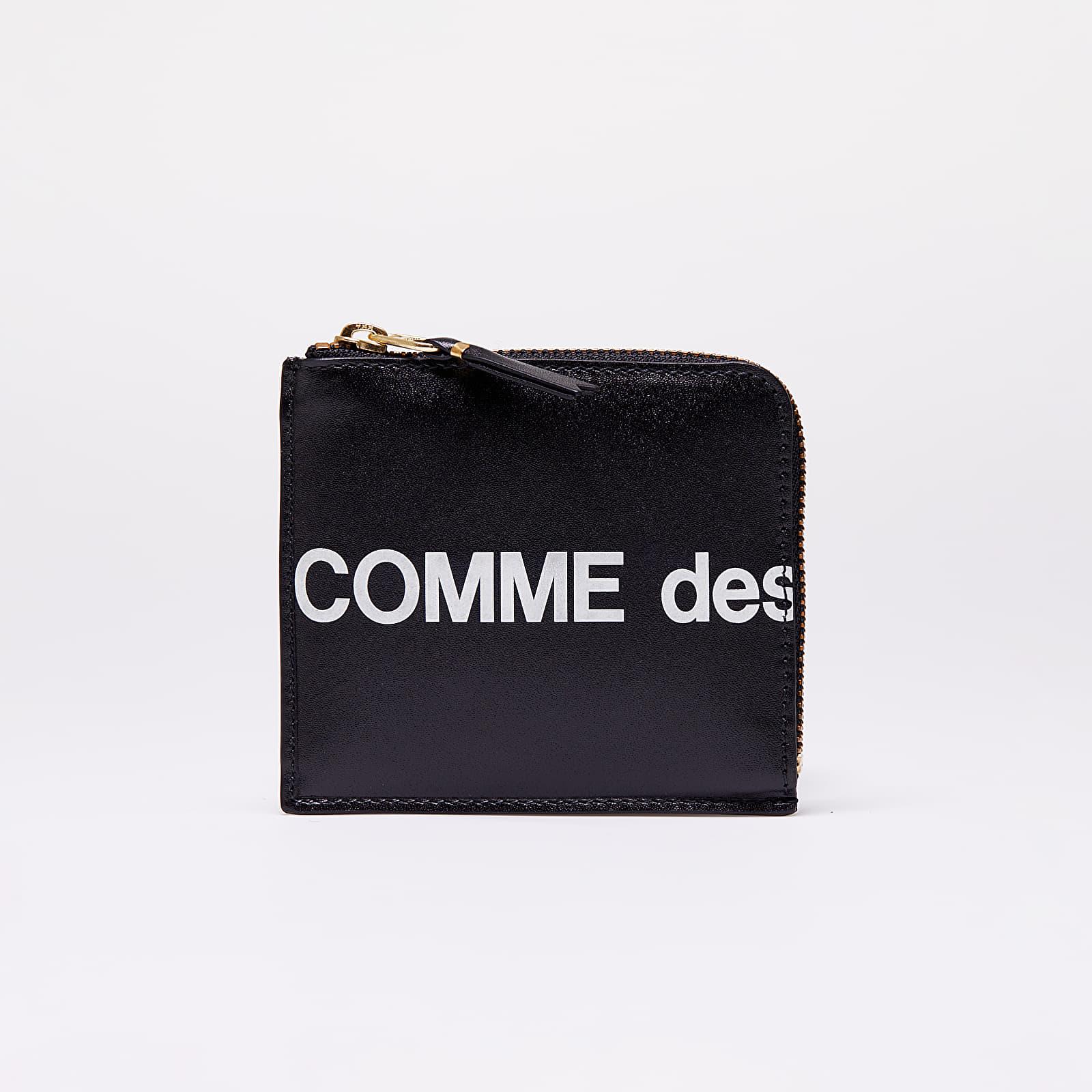Πορτοφόλια Comme des Garçons Huge Logo Wallet Black