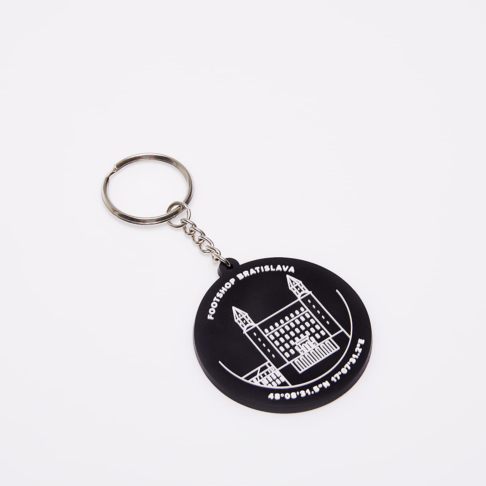 Dodatki Footshop Bratislava Keychain Black