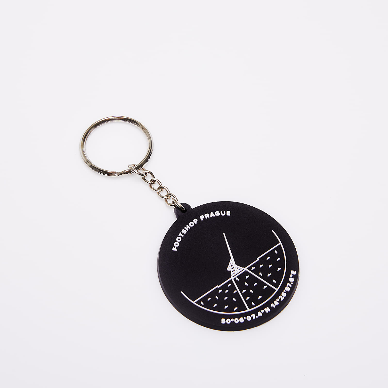 Accessori Footshop Prague Keychain Black