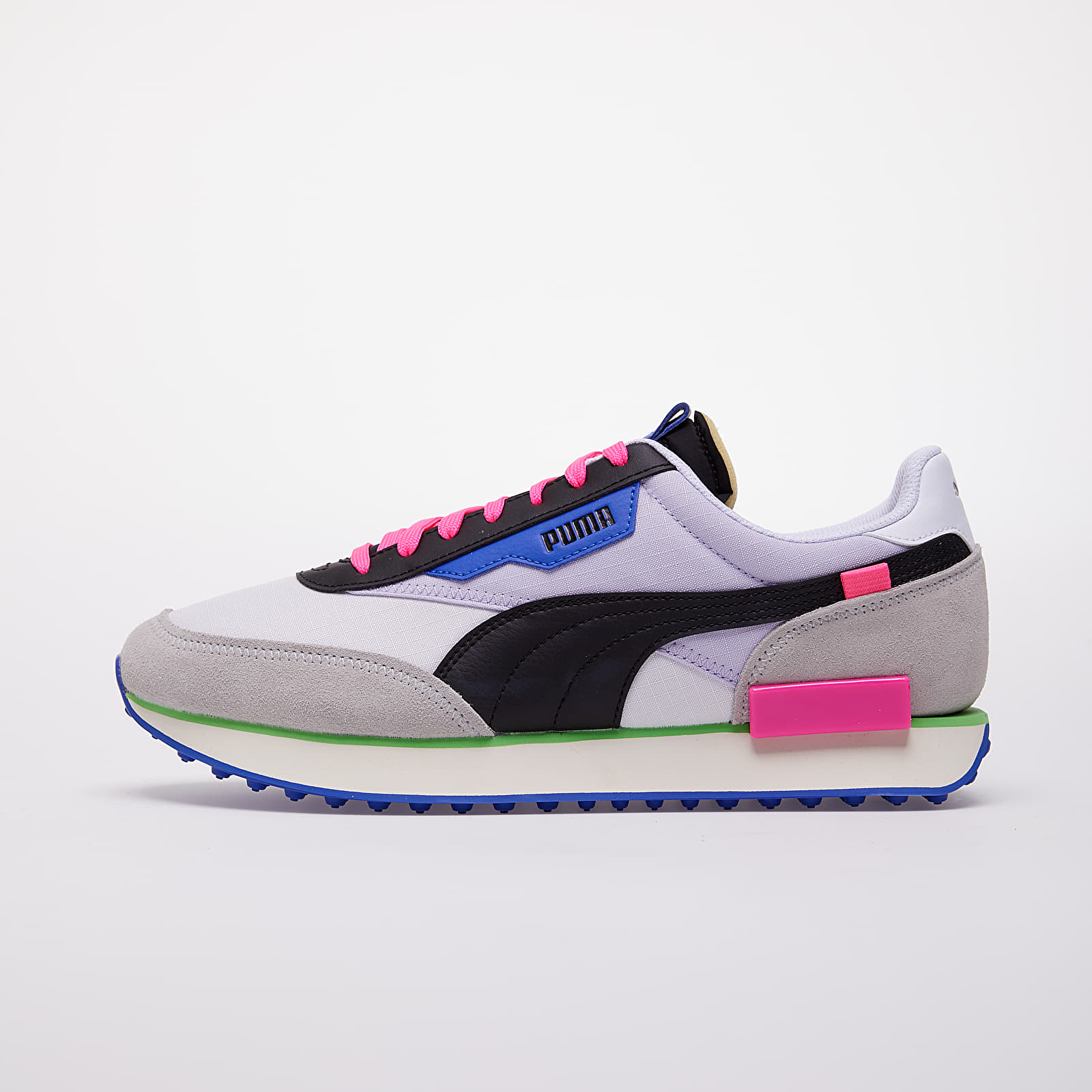 Мужская обувь Puma Future Rider Play On Puma White-Gray Violet