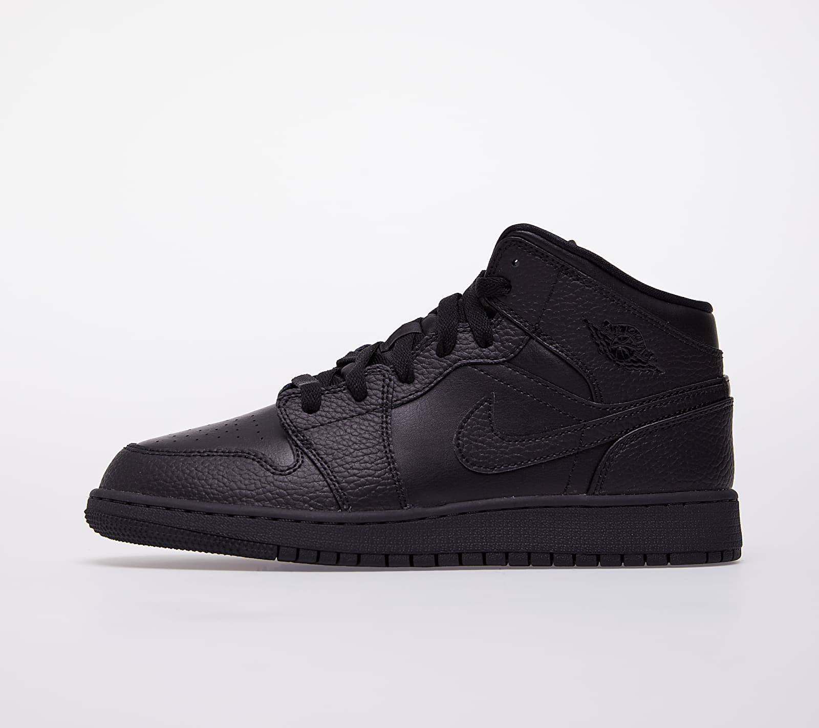 Jordan Air 1 Mid (GS) Black/ Black-Black EUR 36.5