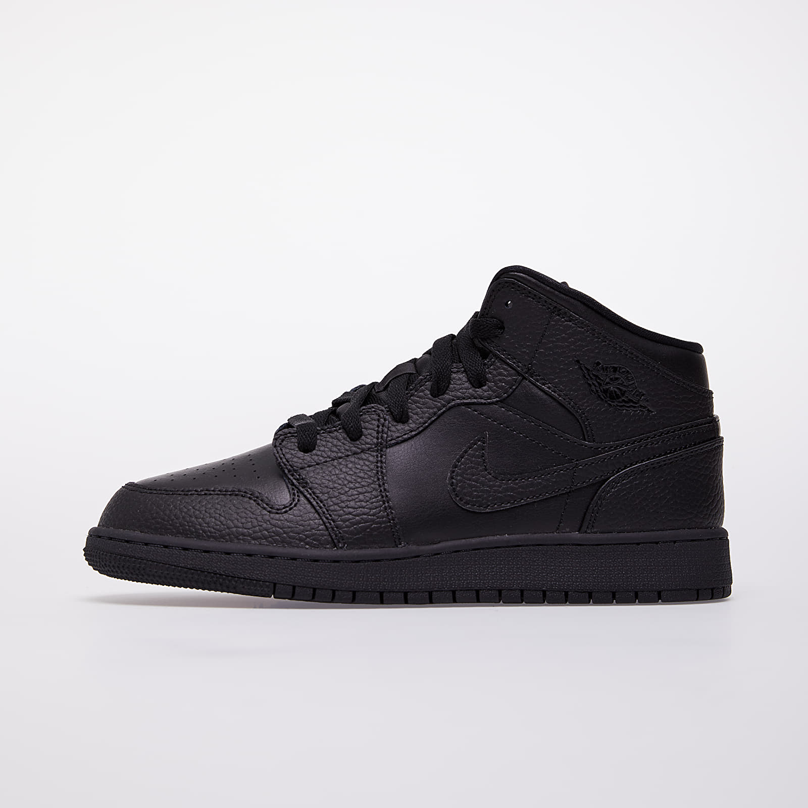 Dětské tenisky a boty Jordan Air 1 Mid (GS) Black/ Black-Black