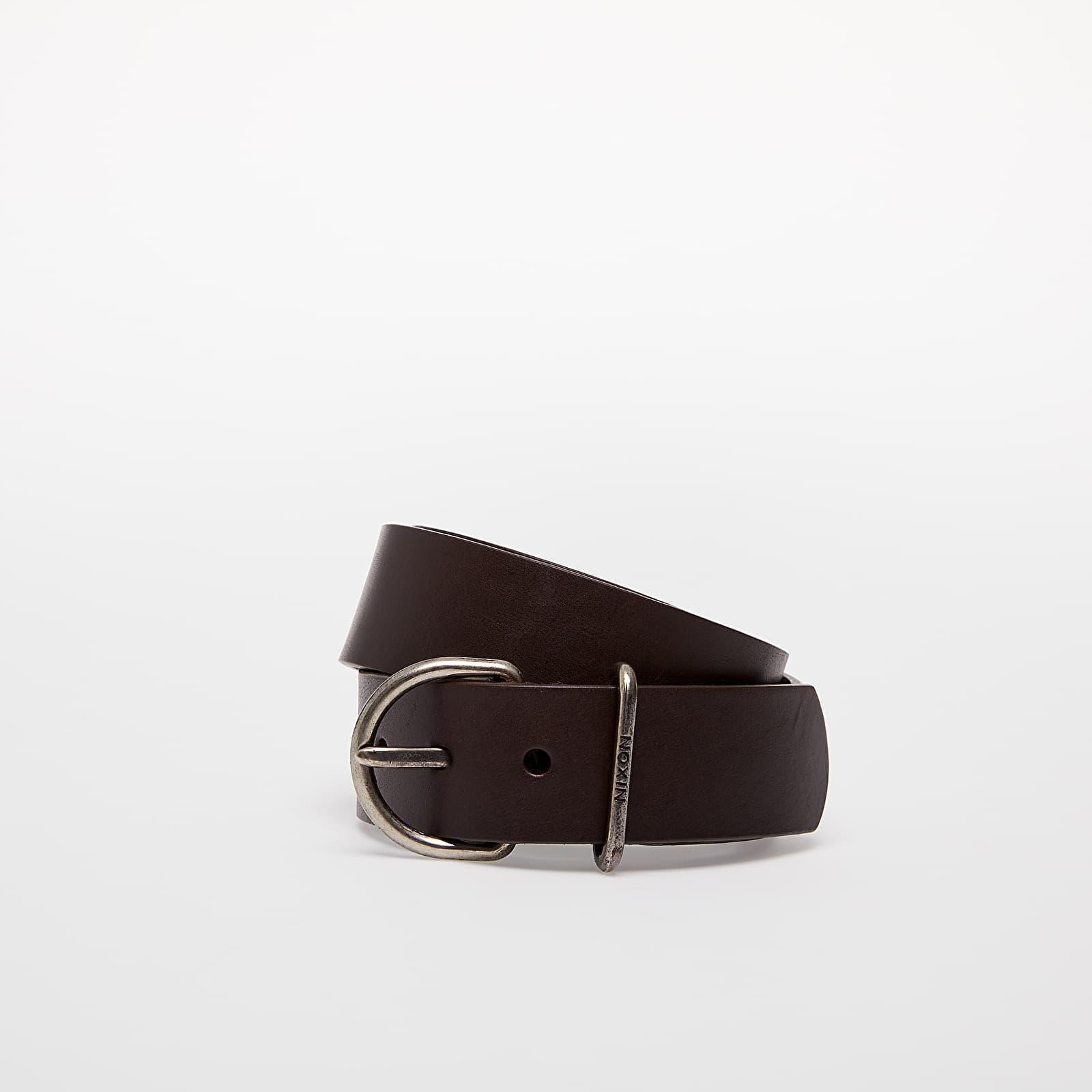 Belts Nixon Steele Belt Dark Brown