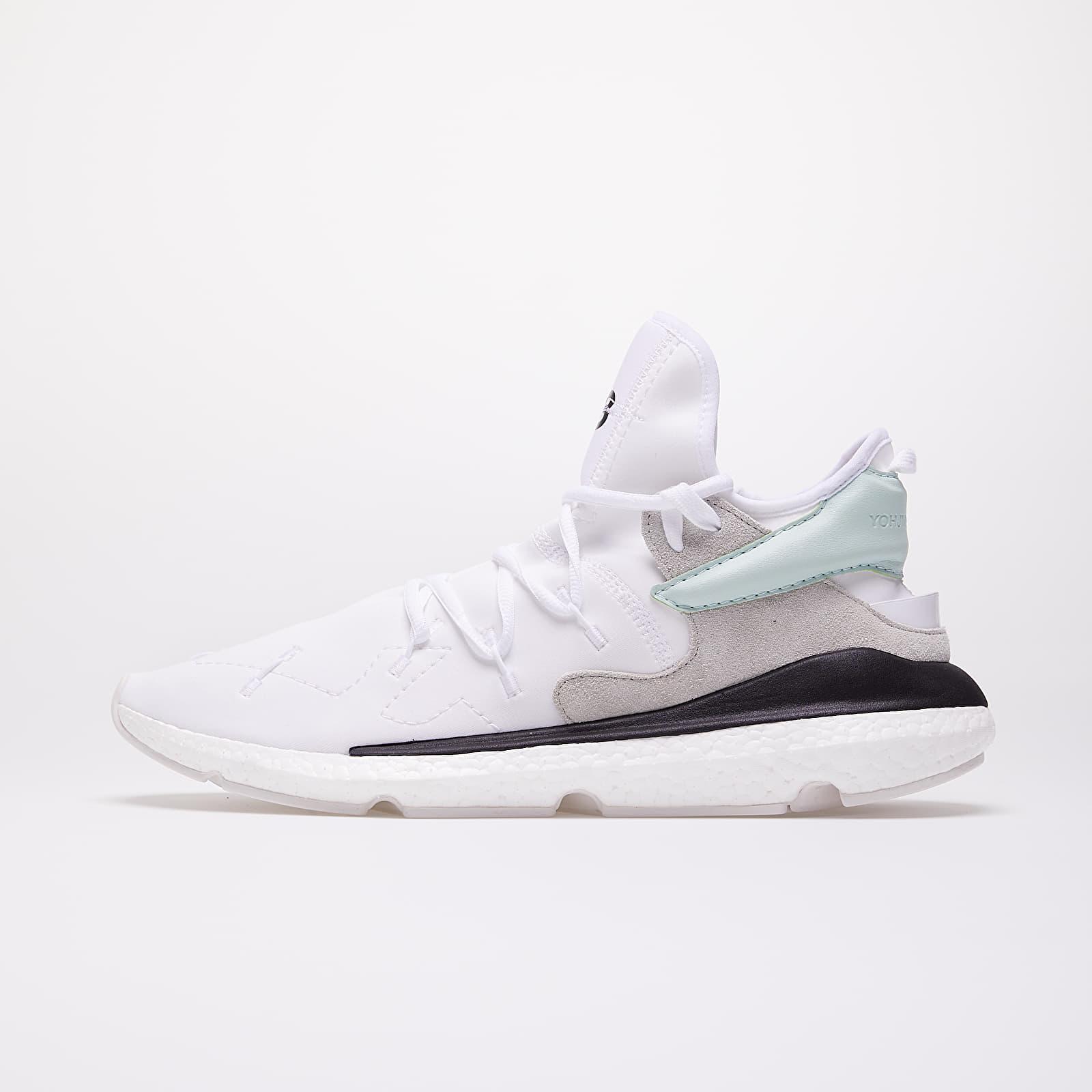 Men's shoes Y-3 Kusari II Ftw White/ Salty Green/ Core Black