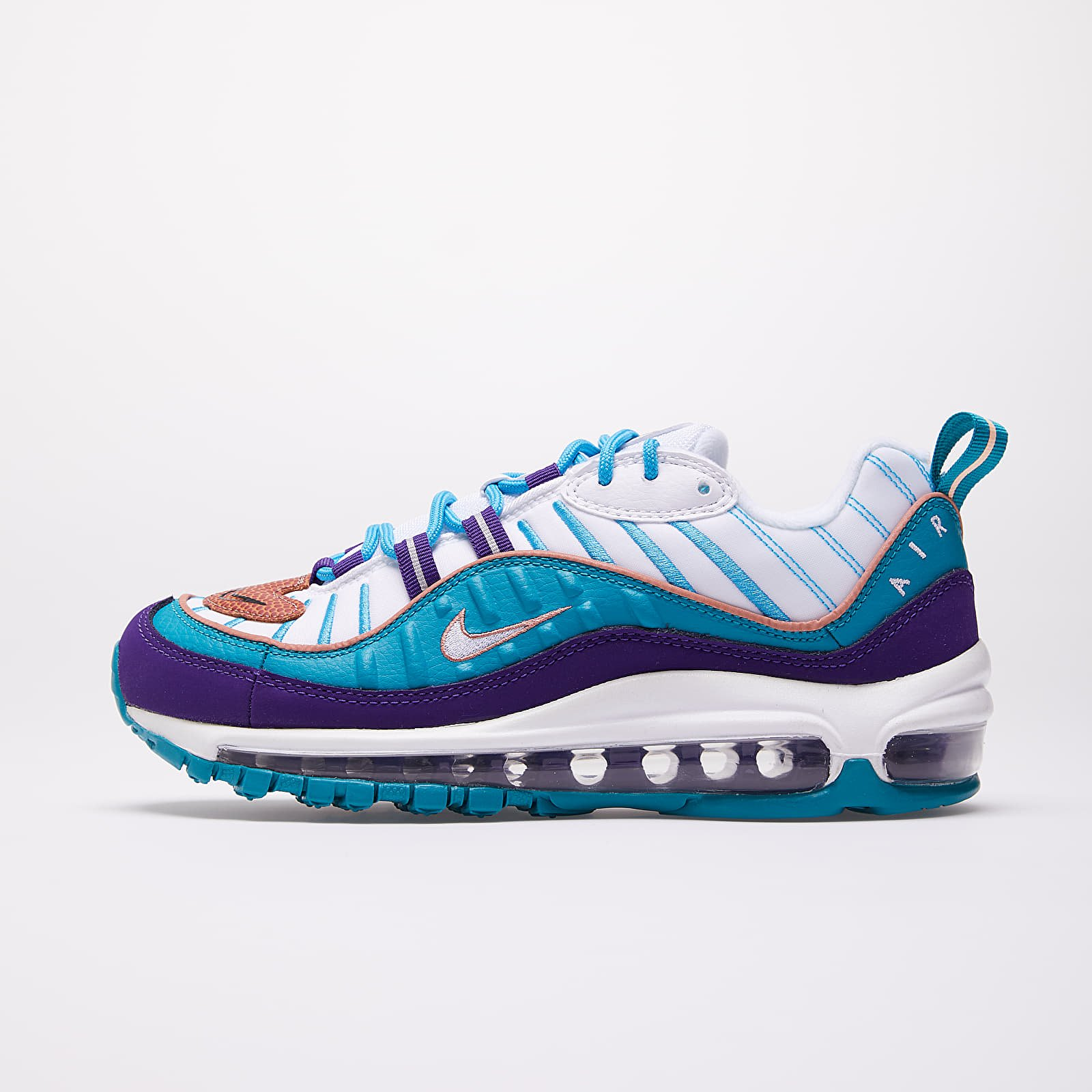 Women's shoes Nike W Air Max 98 Court Purple/ Terra Blush-Spirit Teal