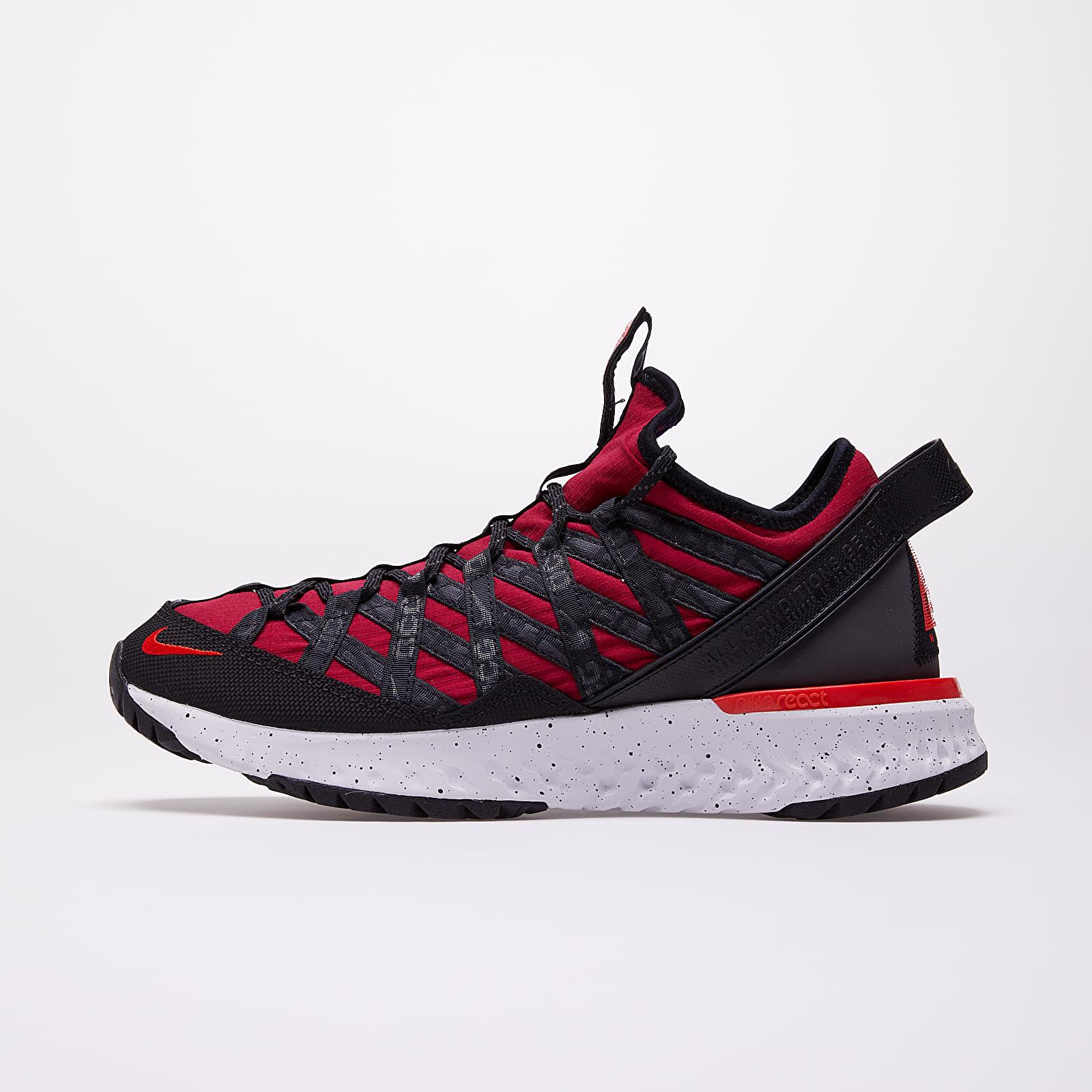 Pánske tenisky a topánky Nike ACG React Terra Gobe Noble Red/ Habanero Red-Court Purple