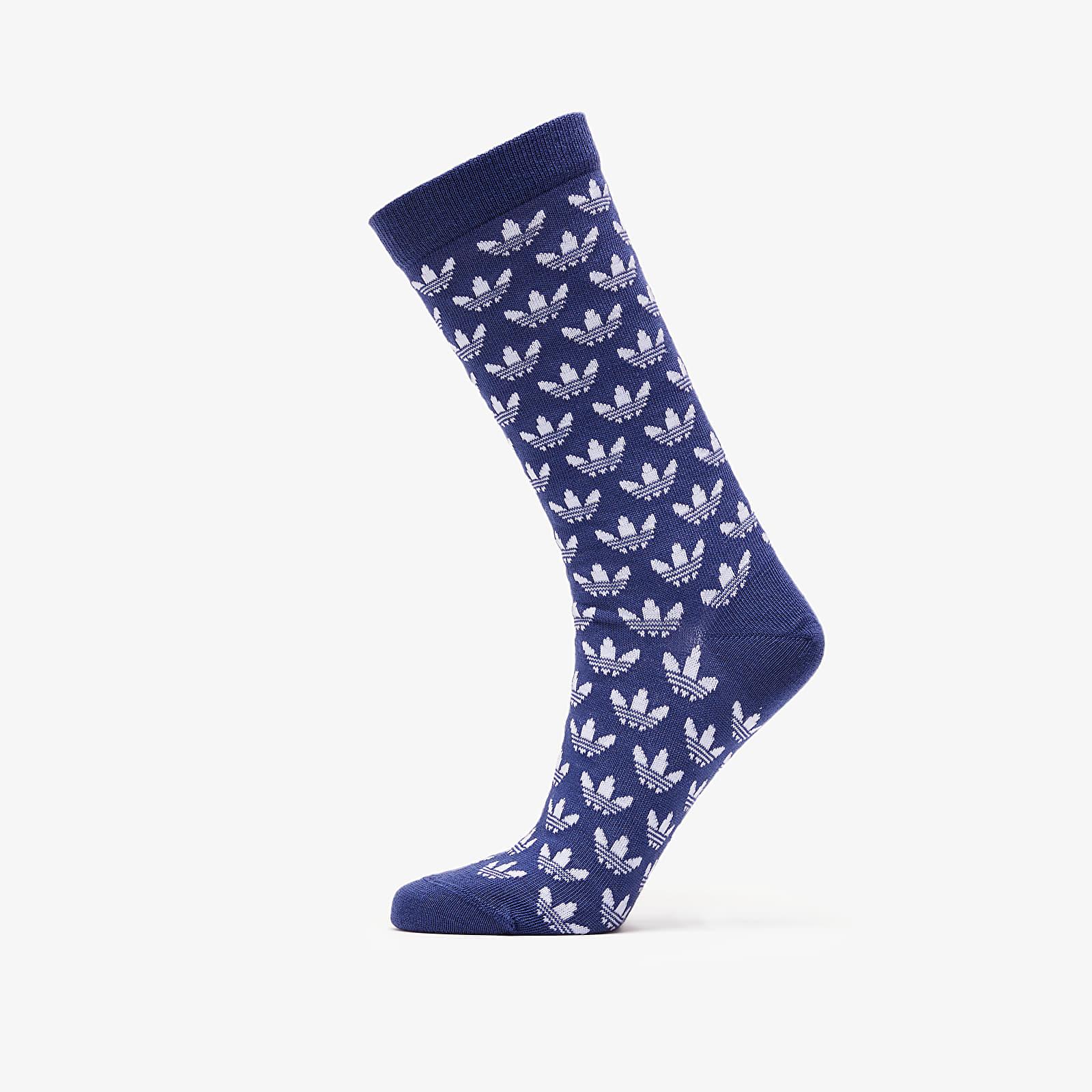 обычные носки adidas 2 Pack Thin Crew Socks Sky Tint/ White