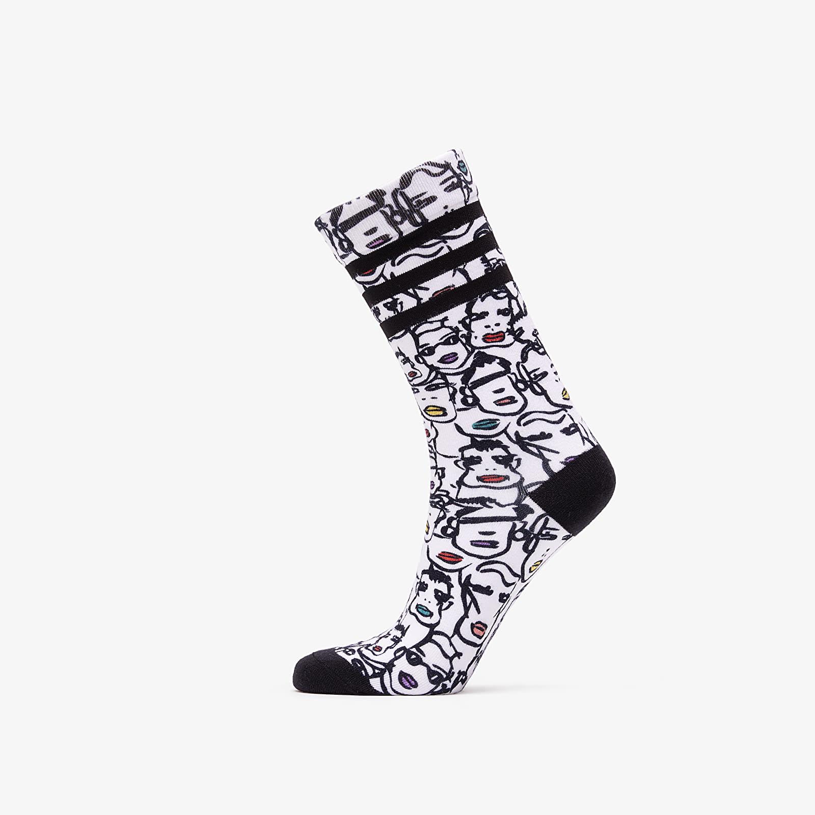 Zoknik adidas by Fiorucci 2Pack Socks White