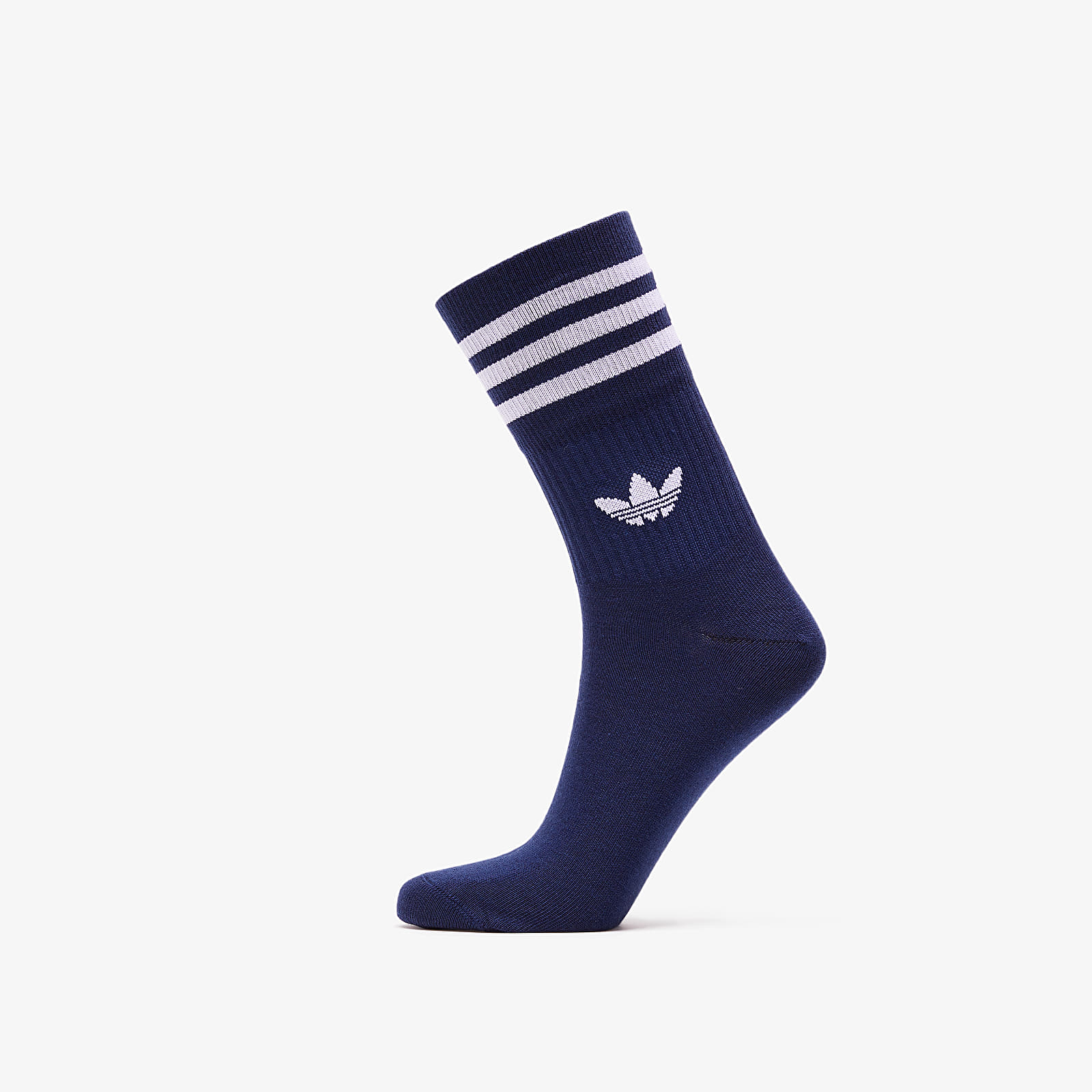 Socks adidas 3 Pack Mid Cut Crew Socks Collegiate Navy/ Collegiate Royal/ White