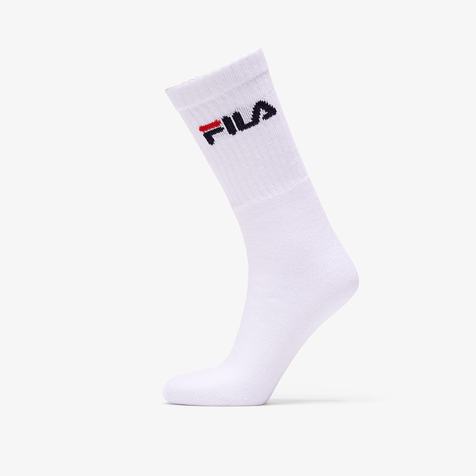 Calcetines FILA 3 Pack Sport Socks White