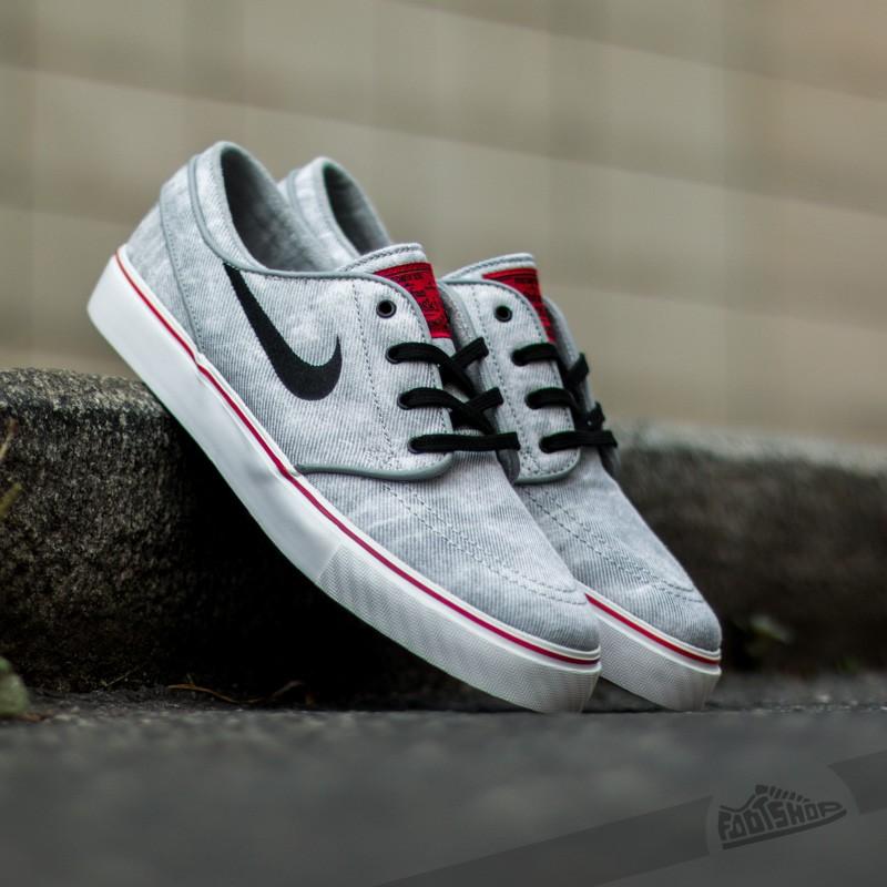 256bd5e18103 Nike Zoom Stefan Janoski CNVS PR QS Wolf Grey  Black- White ...