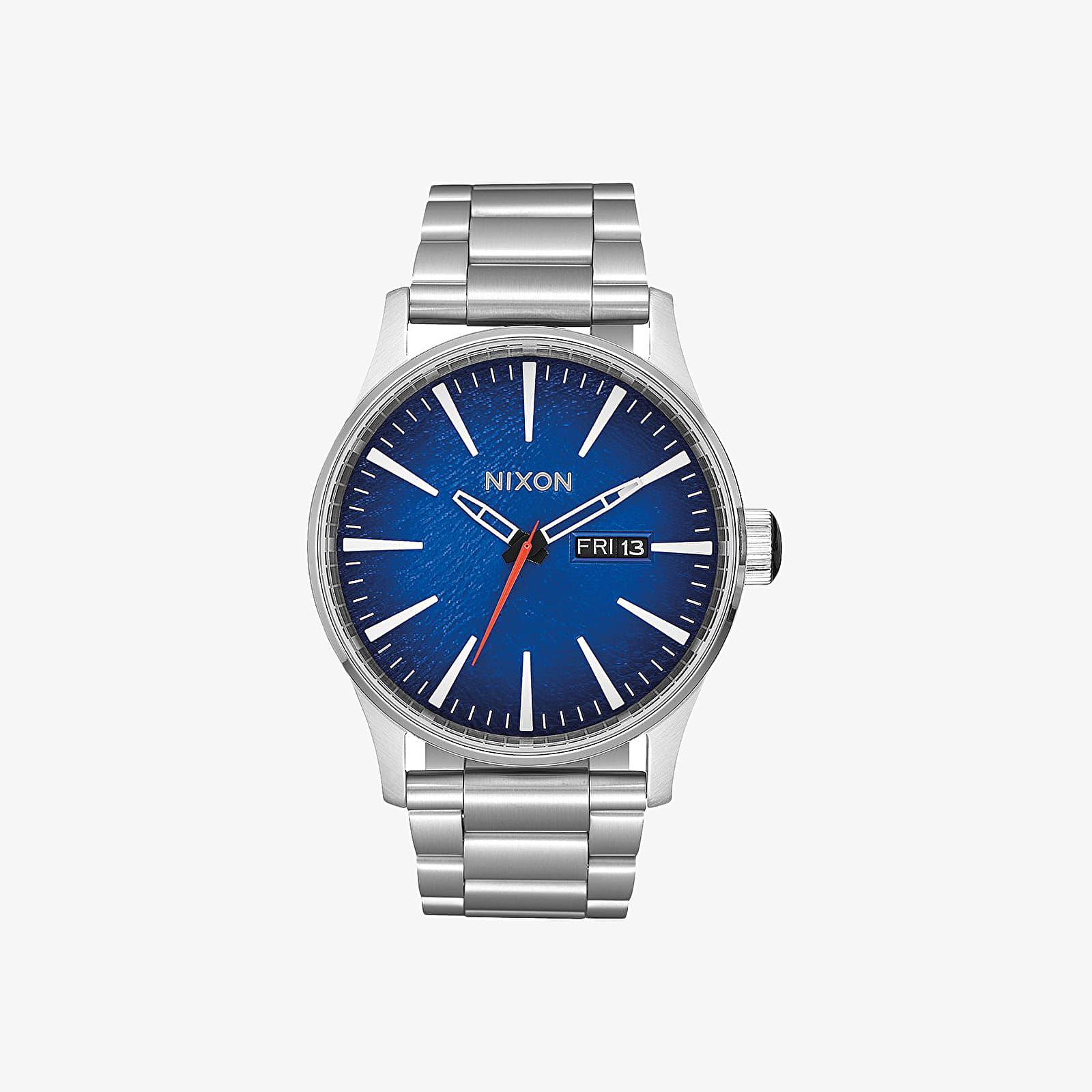 Uhren Nixon Sentry SS Watch Reflex Blue Sunray