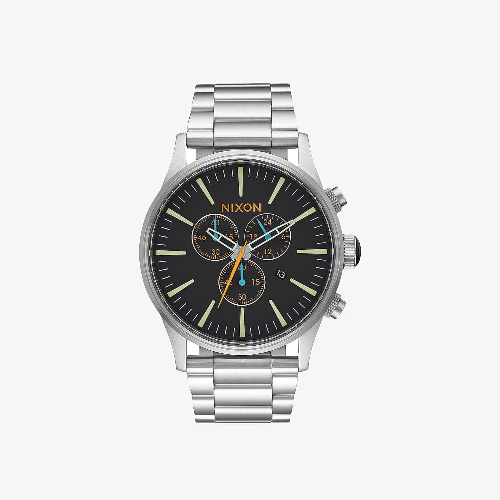 Watches Nixon Sentry Chrono Watch Black/ Multi