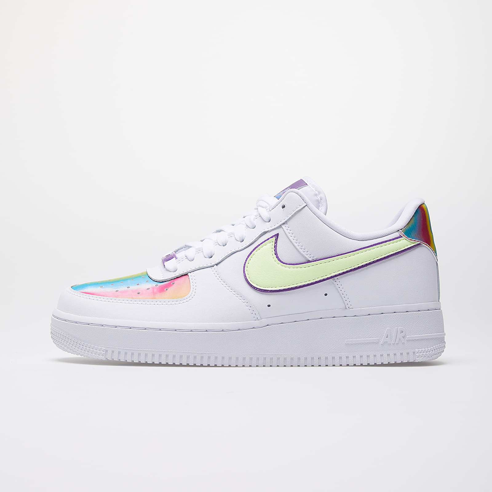 Nike Wmns Air Force 1 Easter White Barely Volt Hyper Blue | Footshop
