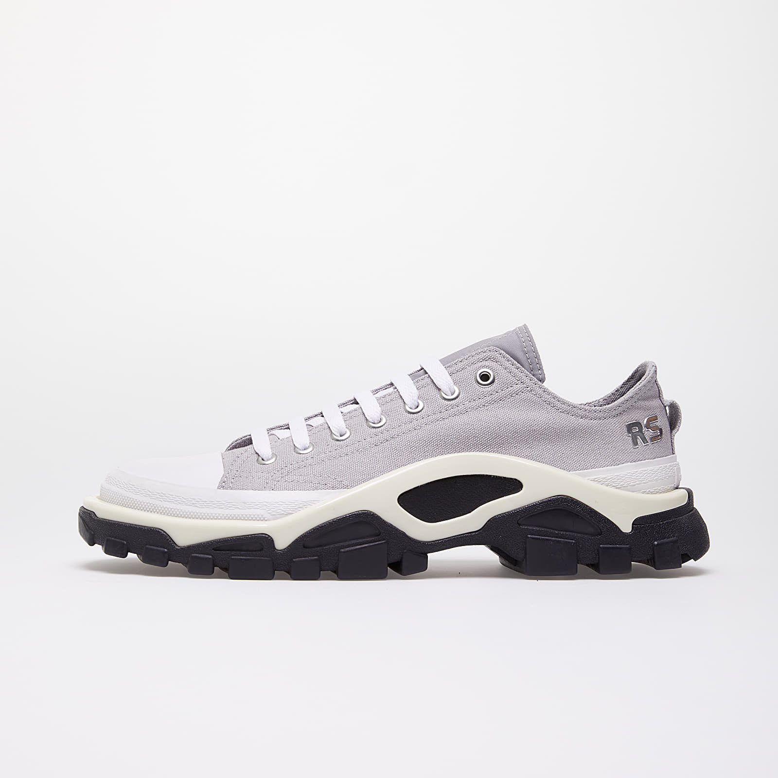 Men's shoes adidas x Raf Simons Detroit Runner Light Granite/ Silver Metallic/ Core White