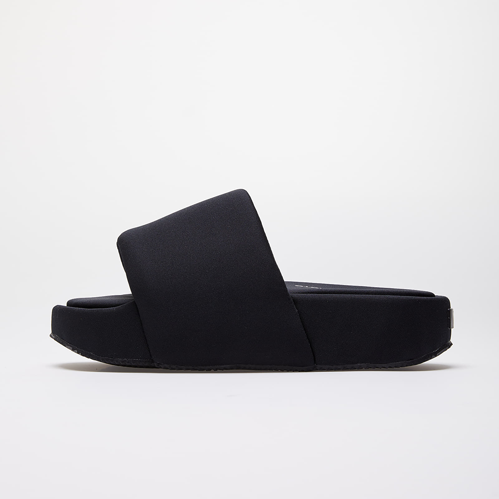 Y 3 Slide Black Black Black | Footshop