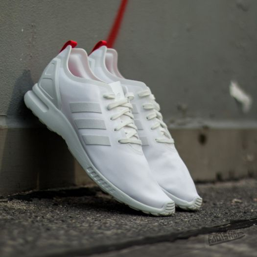 new product 5ad9a 0c99a adidas ZX Flux Smooth W CWhite/ Tomato | Footshop