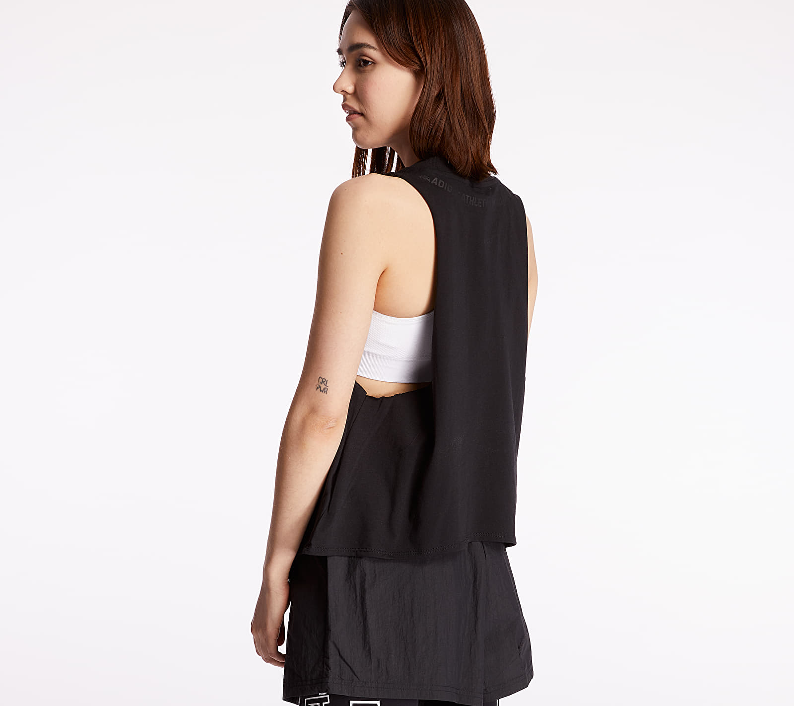 adidas Sleeveless Graphic Tee Black