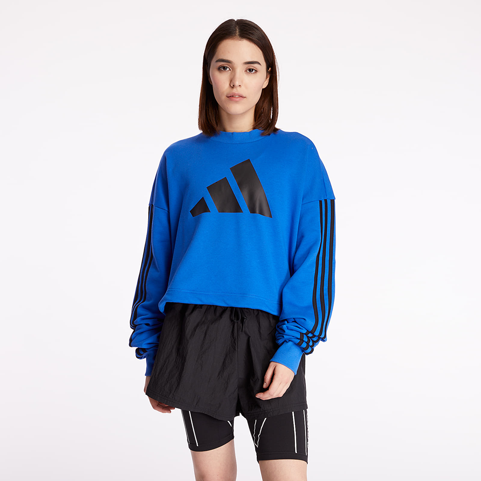 adidas Adjustable Three Stripes Sweatshirt
