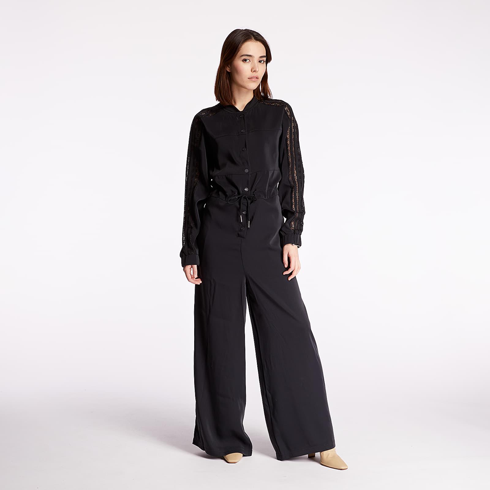 Damen Bekleidung adidas Lace Jumpsuit Black