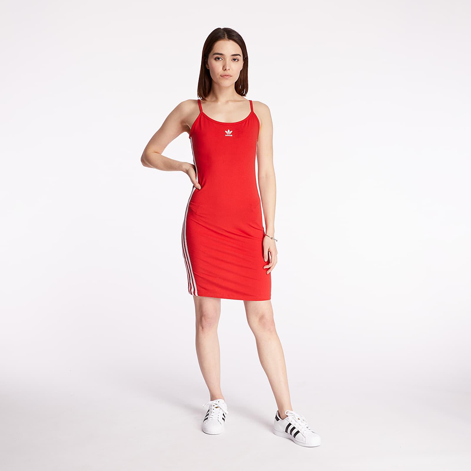 Dress adidas Tank Dress Lush Red/ White