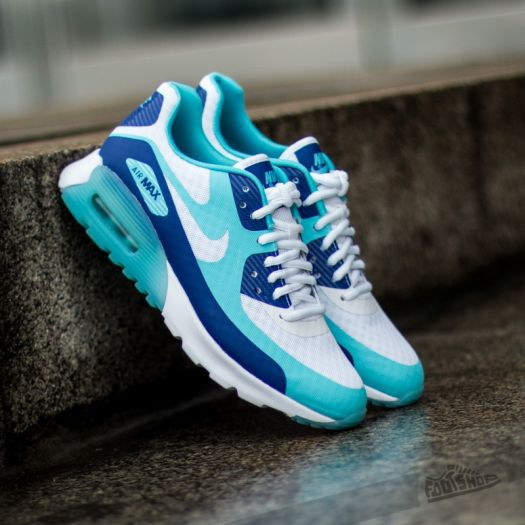 Nike W Air Max 90 Ultra BR Deep Royal Blue White | Footshop