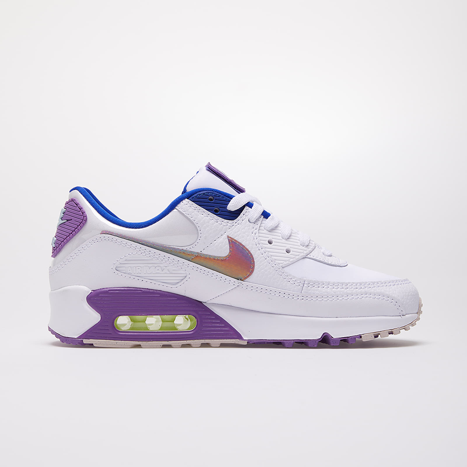 Nike W Air Max 90 SE White Multi Color Purple Nebula | Footshop