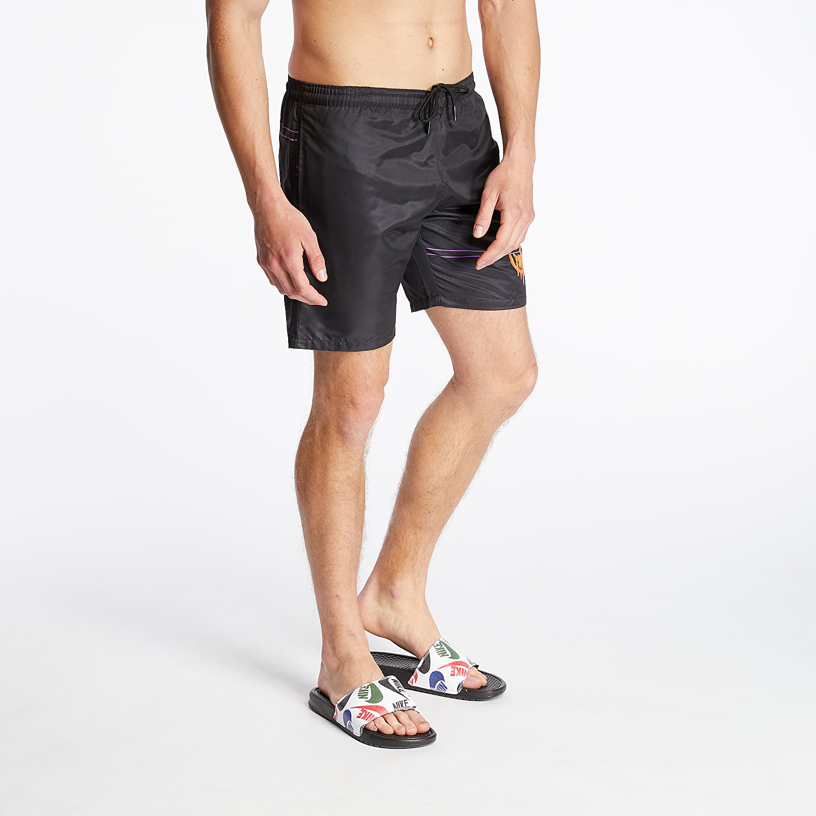 Swimsuit Life Is Porno Boardshorts Black