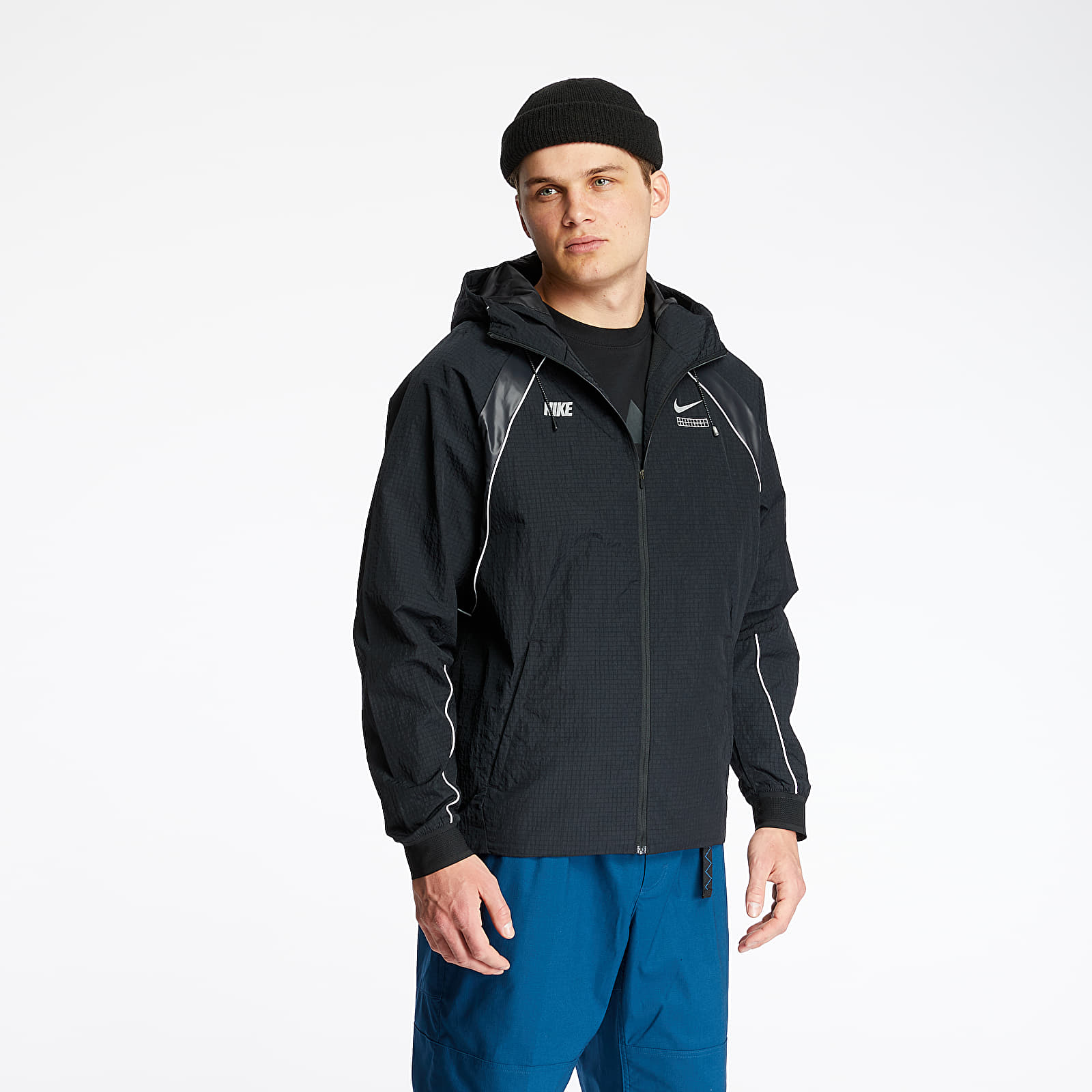 Dzsekik Nike Sportswear DNA Woven Jacket Black/ Black