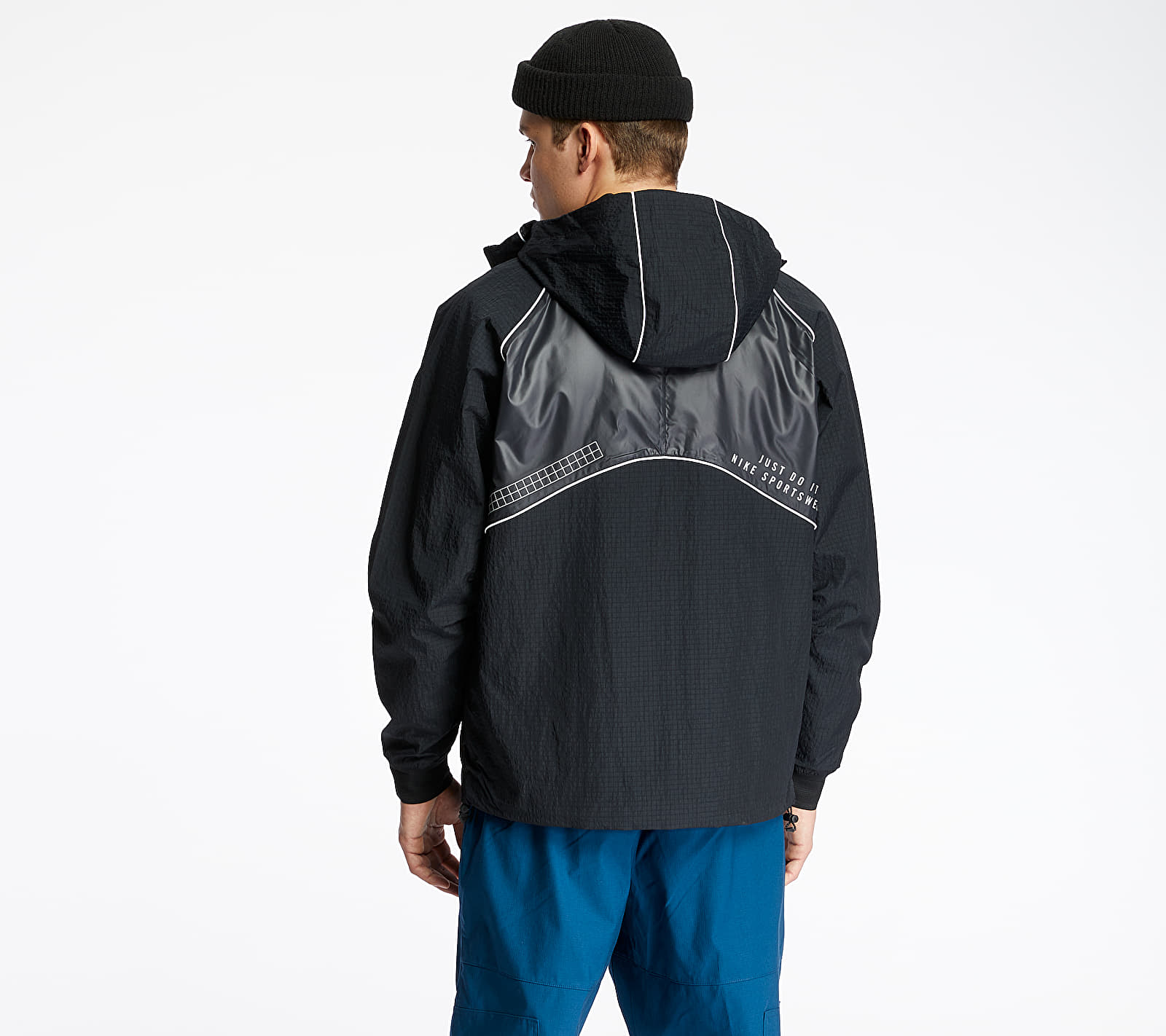 Nike Sportswear DNA Woven Jacket Black/ Black