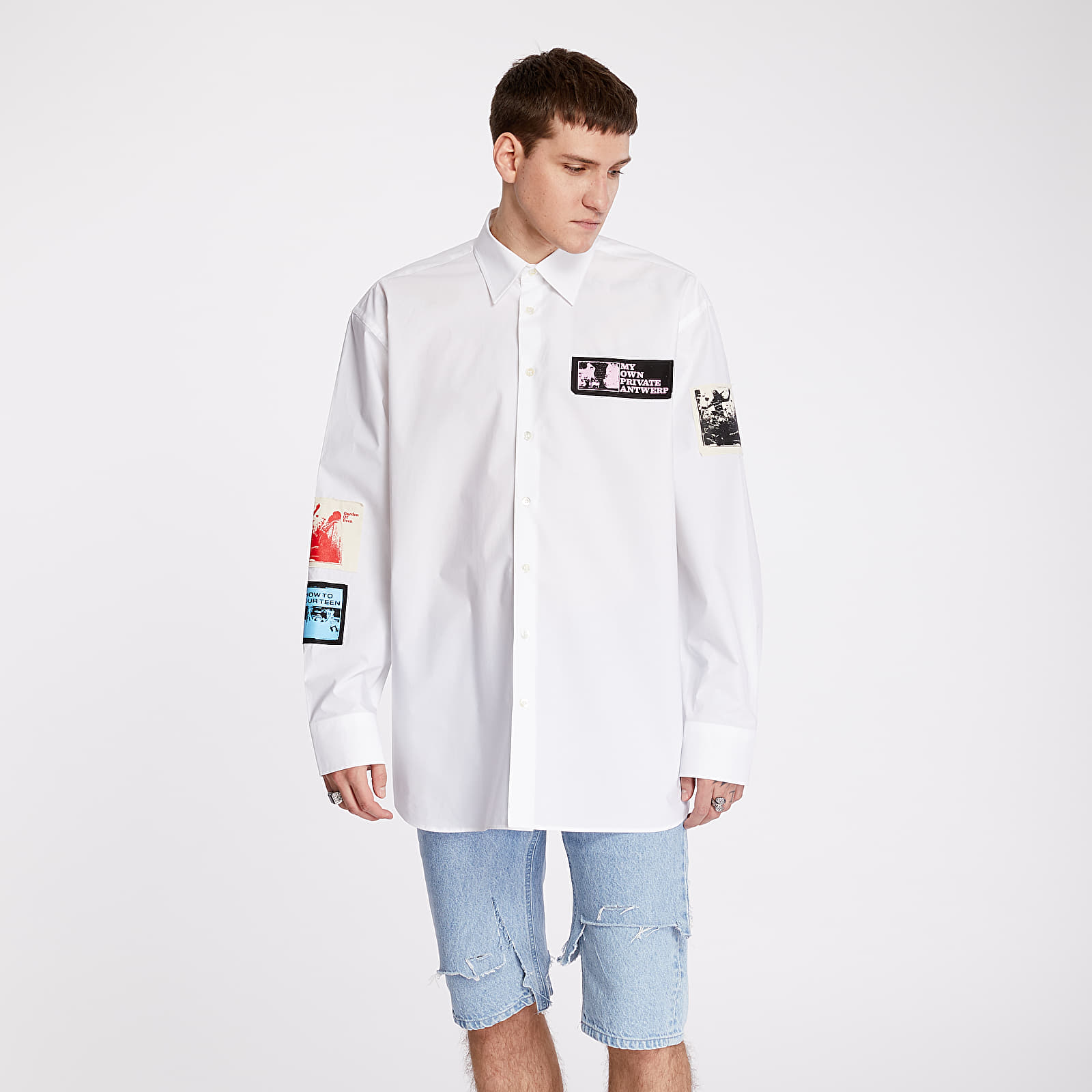Shirts RAF SIMONS Oversized Shirt White