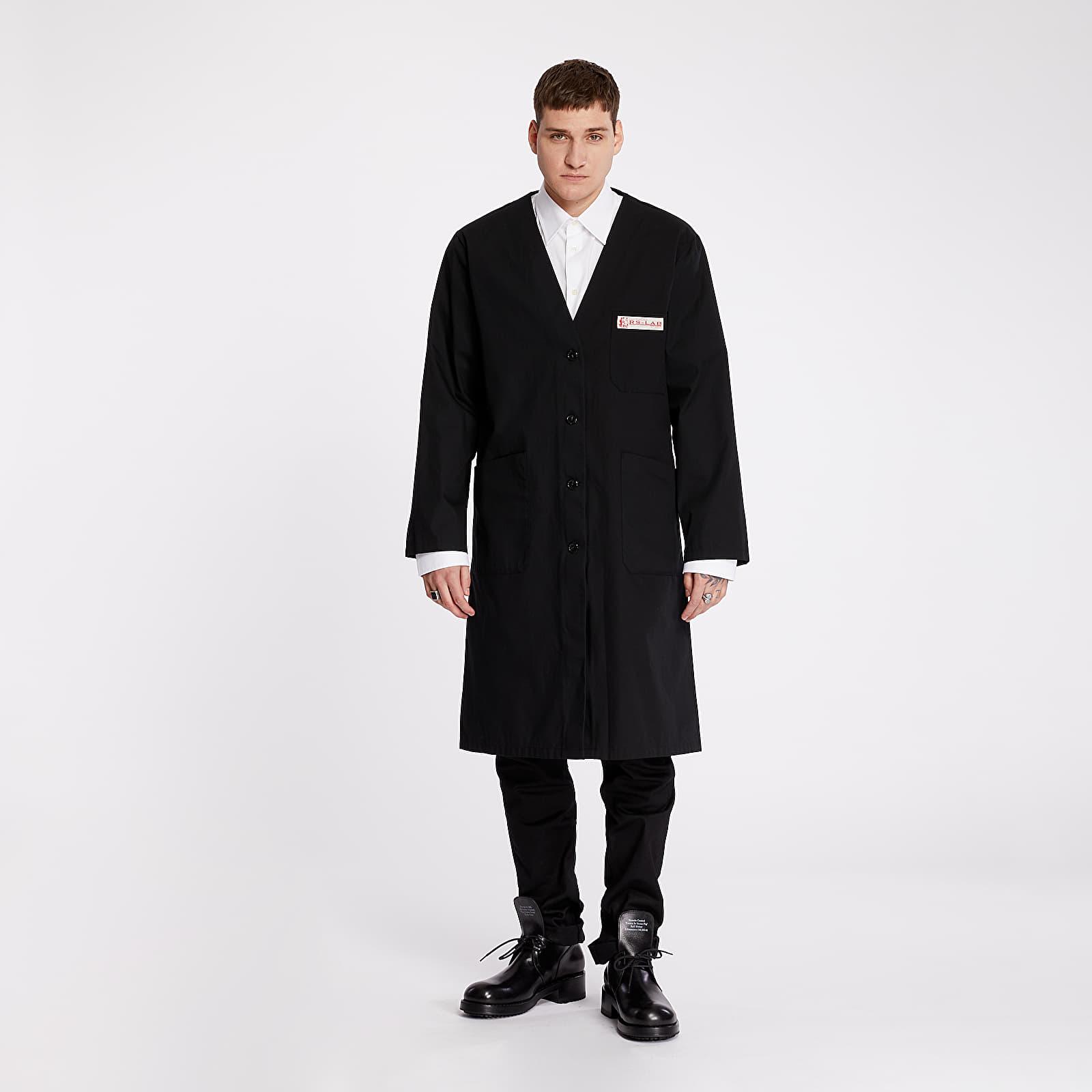 Kabáty RAF SIMONS Classic Labo Coat Black