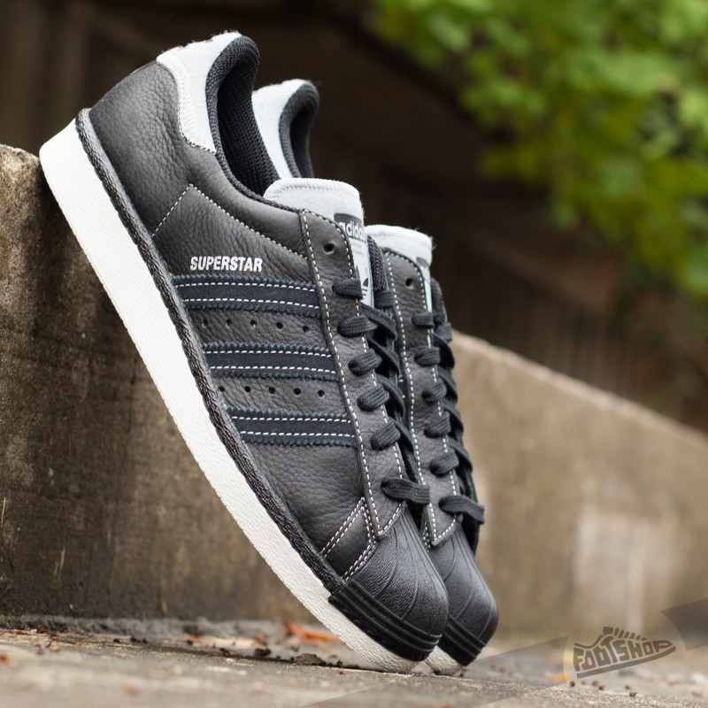 """new concept beauty low cost adidas Superstar 80s """"Varsity Jacket"""" Pack Core Black/ Silver ..."""