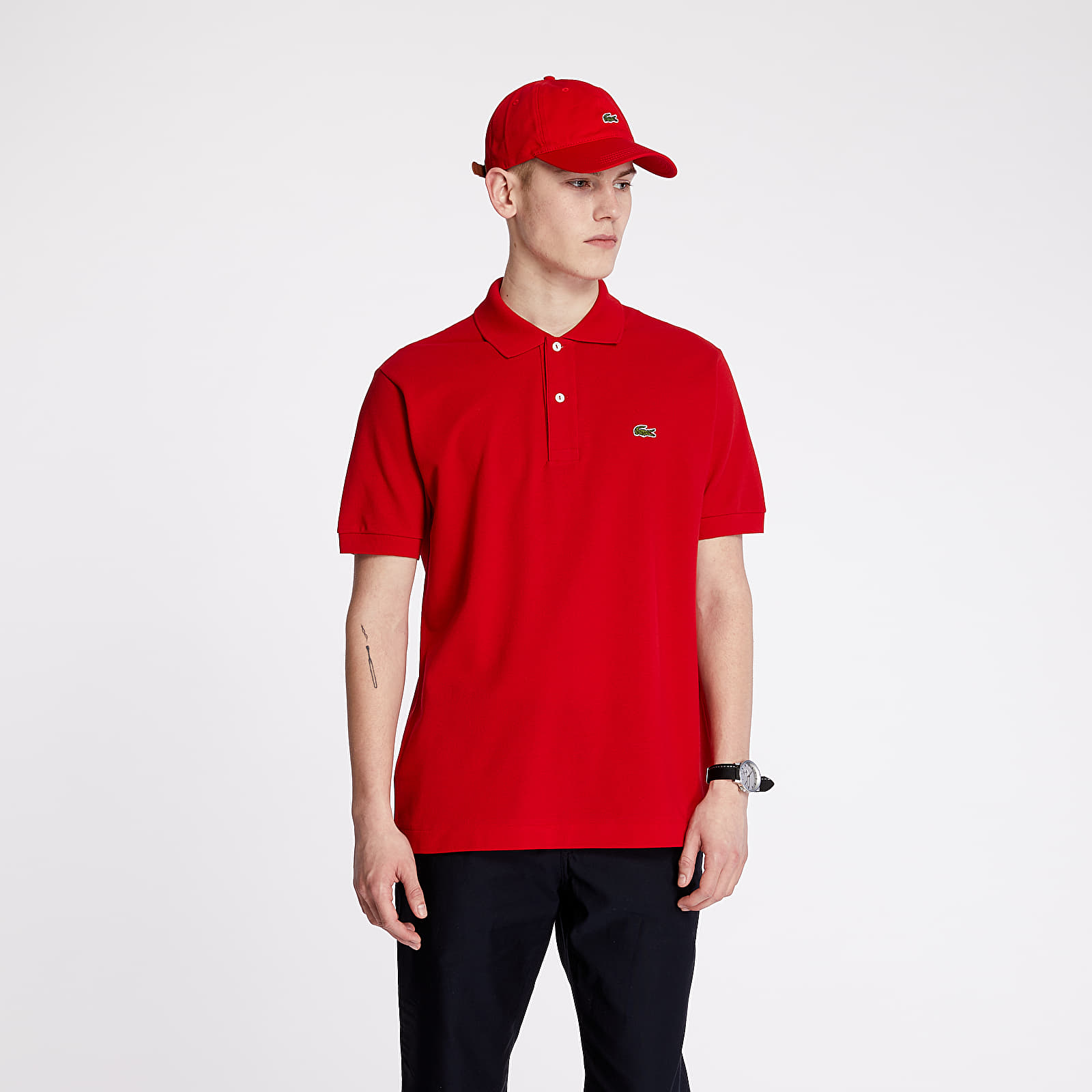 T-shirts LACOSTE Polo Tee Red