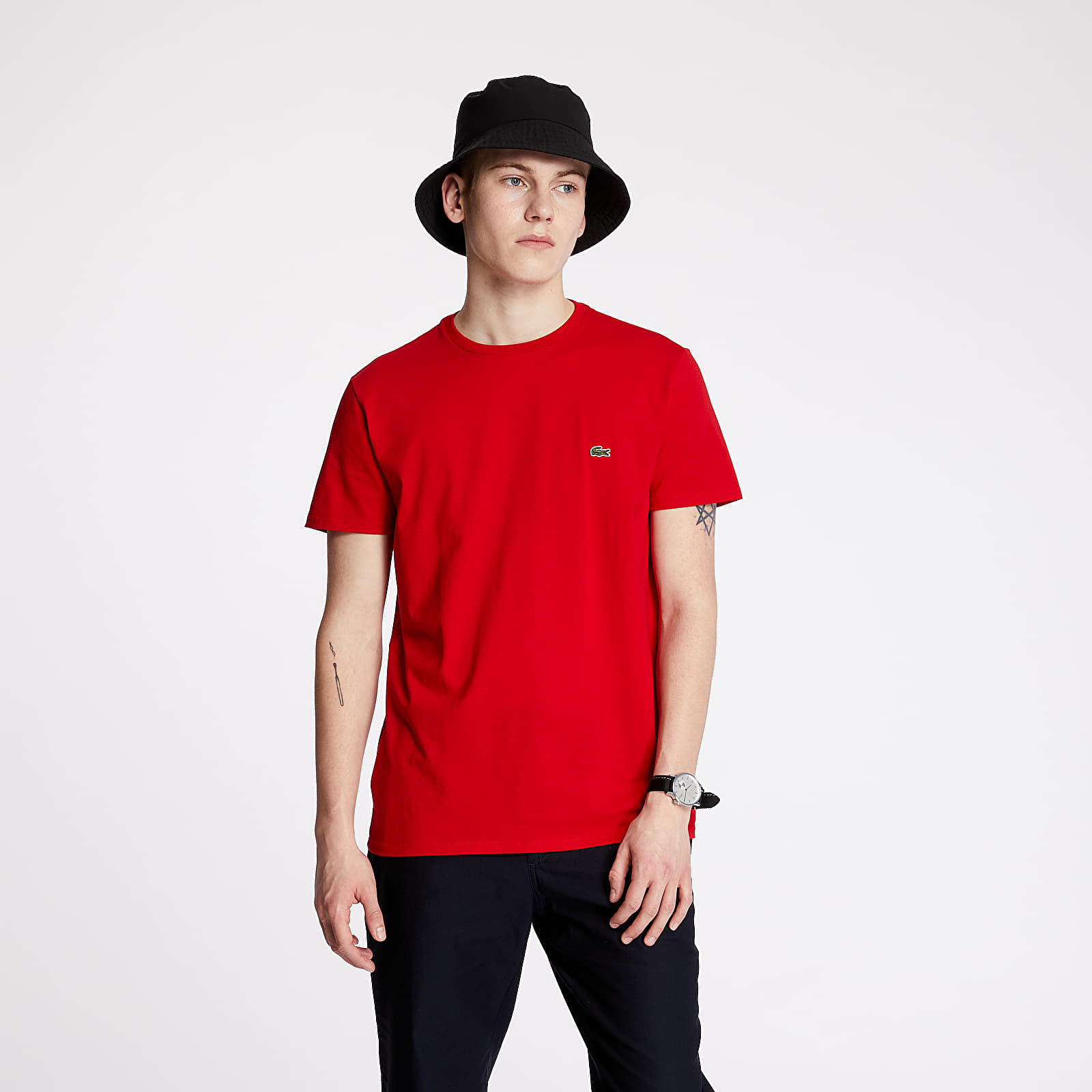 T-shirts LACOSTE Classic Fit Tee Rouge