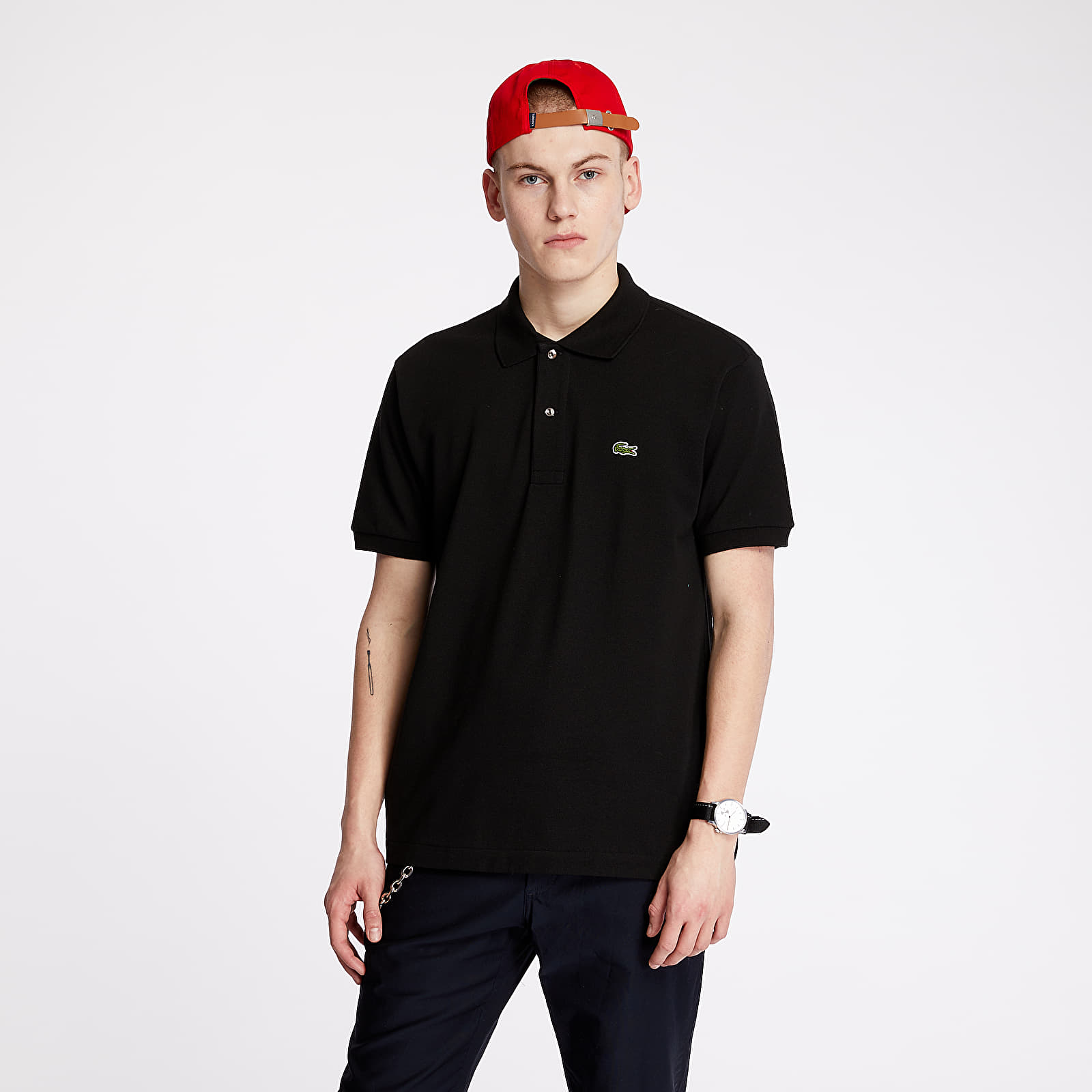 T-shirts LACOSTE Polo Tee Black