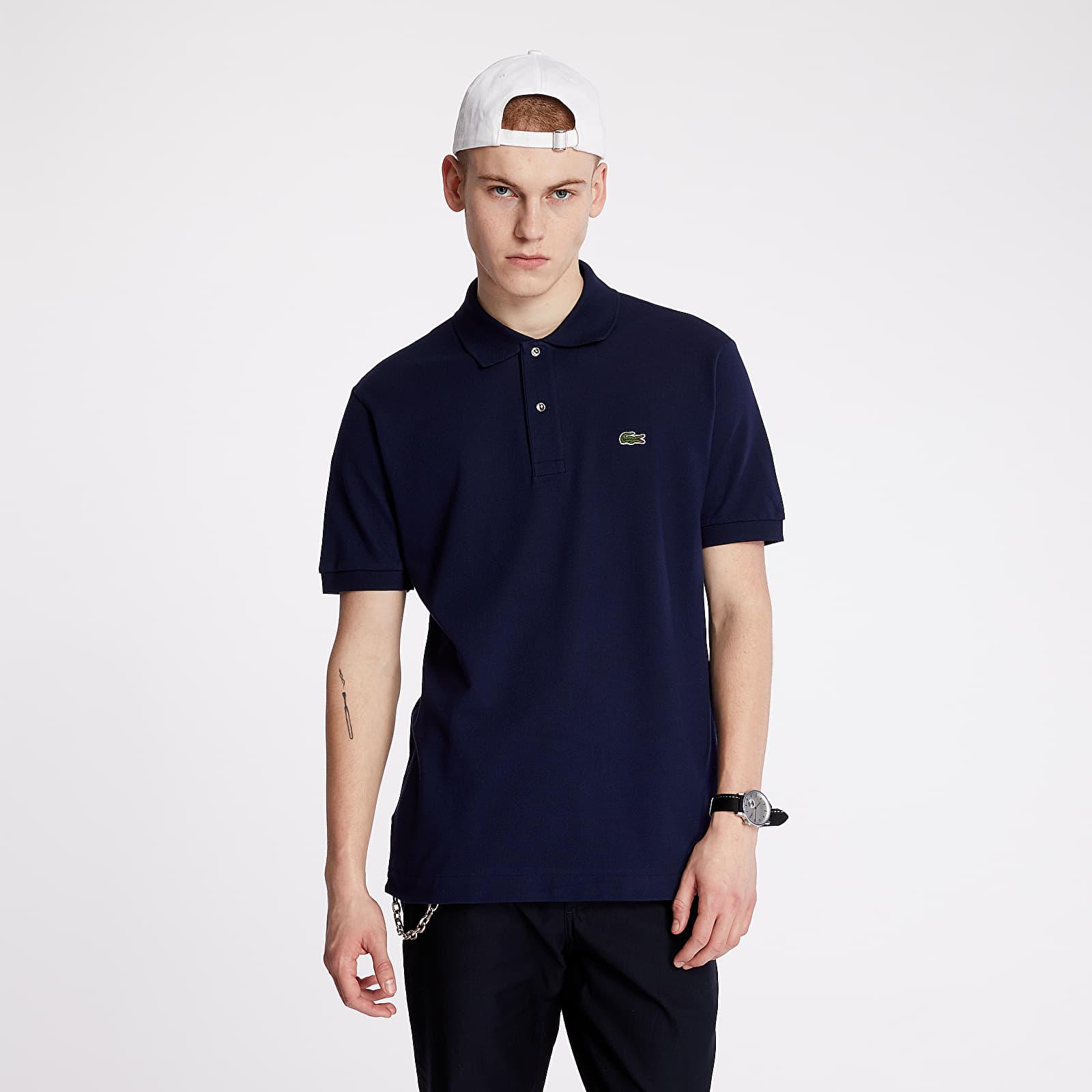 T-shirts LACOSTE Polo Tee Blue Marine