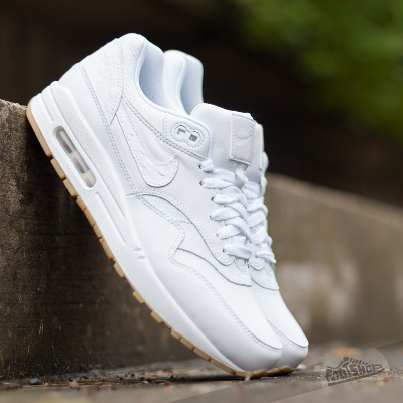 77bd7a7227c Nike Air Max 1 Leather PA White Gum Light Brown