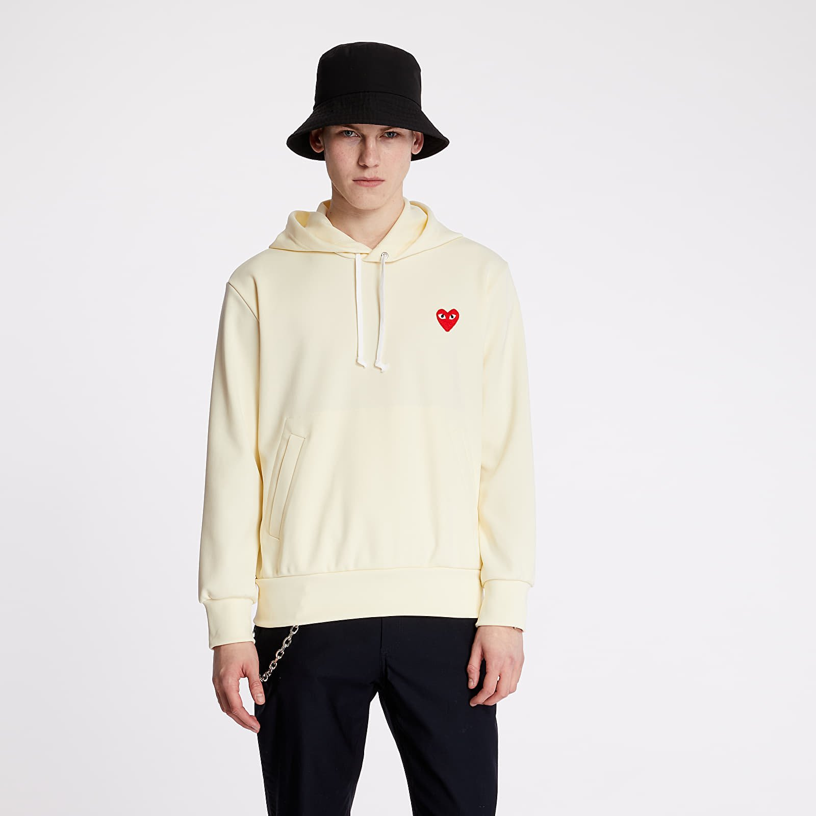 Sweatshirts Comme des Garçons PLAY Hoodie Yellow