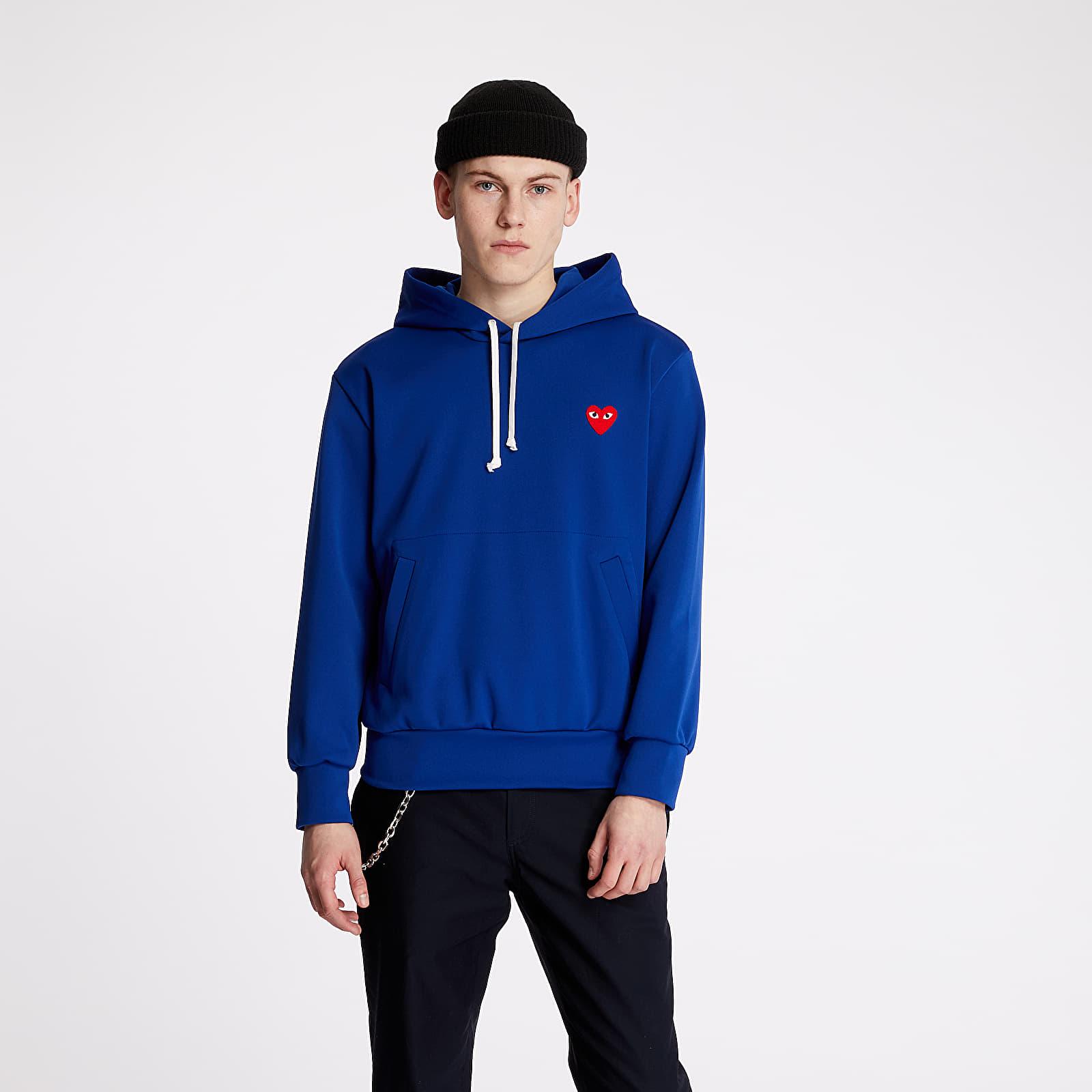 Sweatshirts Comme des Garçons PLAY Hoodie Blue