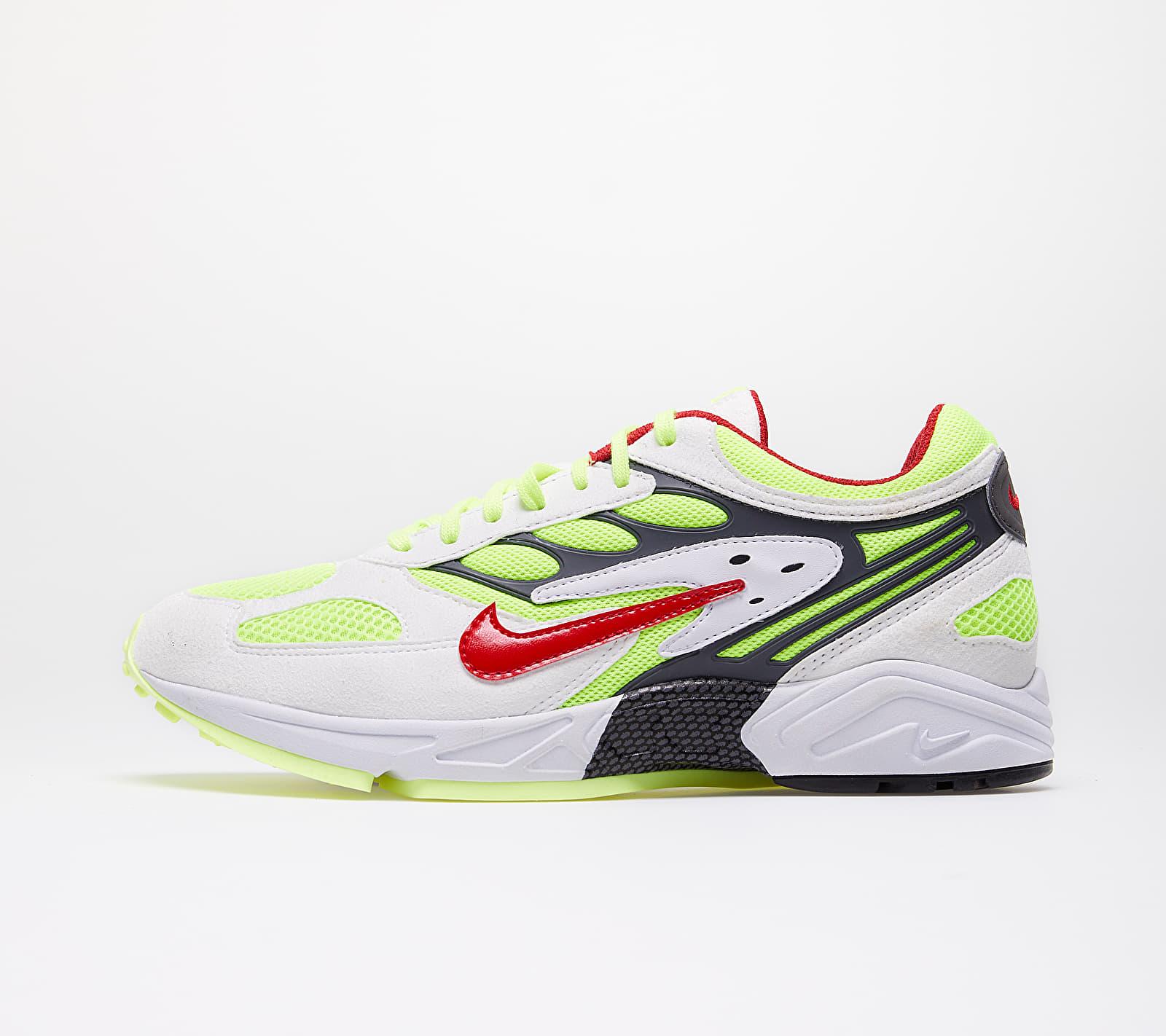 Nike Air Ghost Racer White/ Atom Red-Neon Yellow-Dark Grey EUR 42.5