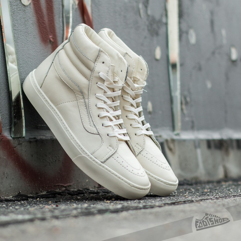c258c3942d8e1f Vans Sk8-Hi Cup California Leather Whisper White