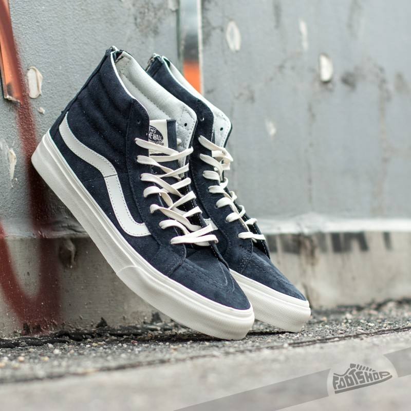 6d529ce585 Vans Sk8-Hi Slim Zip Scotchgard Blue Graphite