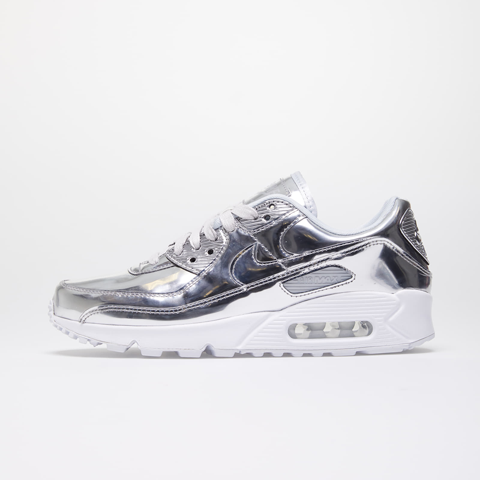 Women's shoes Nike W Air Max 90 SP Chrome/ Chrome-Pure Platinum-White