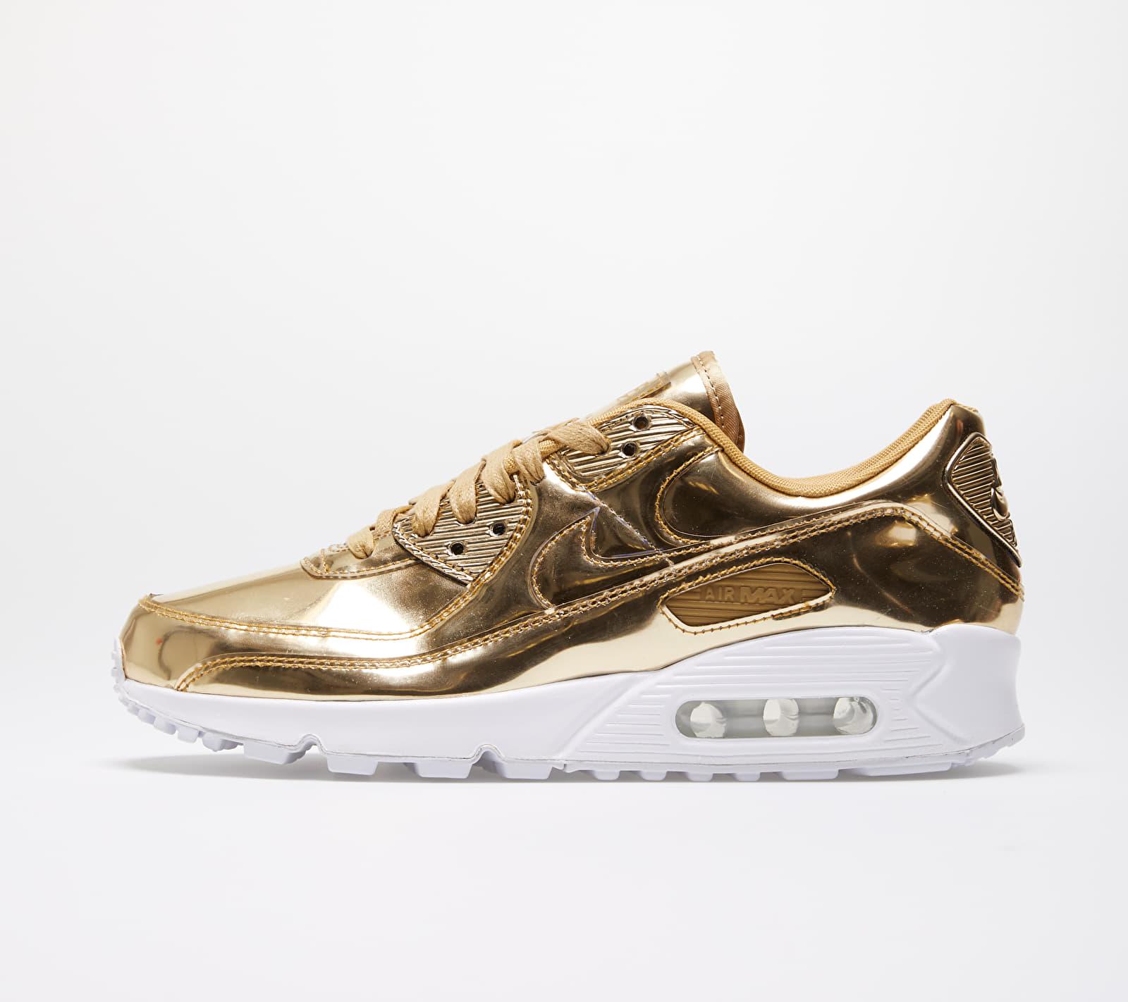Nike W Air Max 90 SP Metallic Gold/ Metallic Gold-Club Gold 1